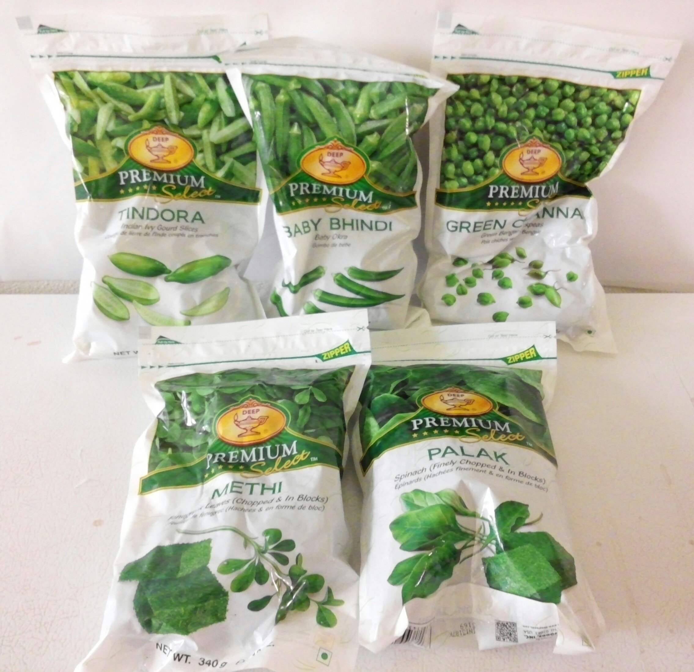 Frozen Vegetables / Fruits