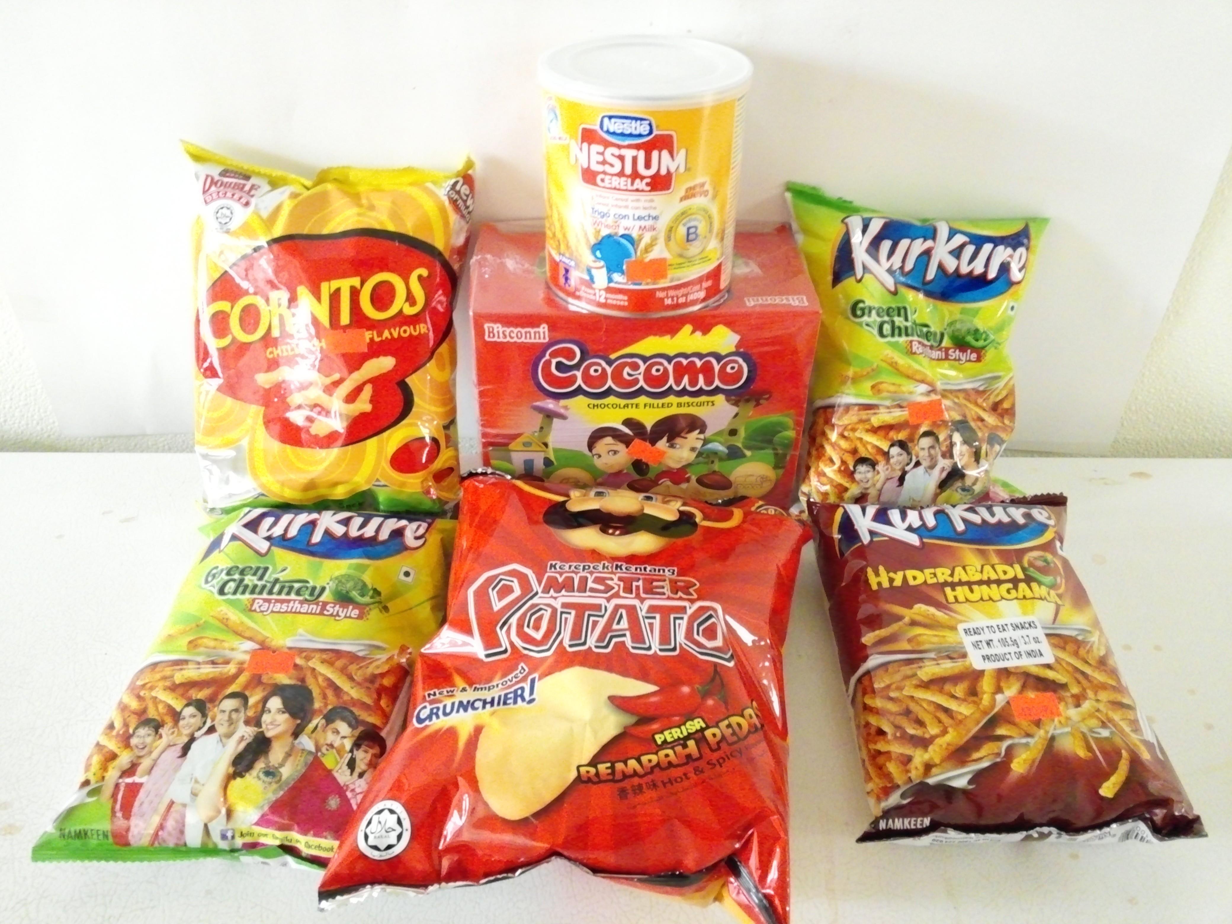 Kids Snacks & Food