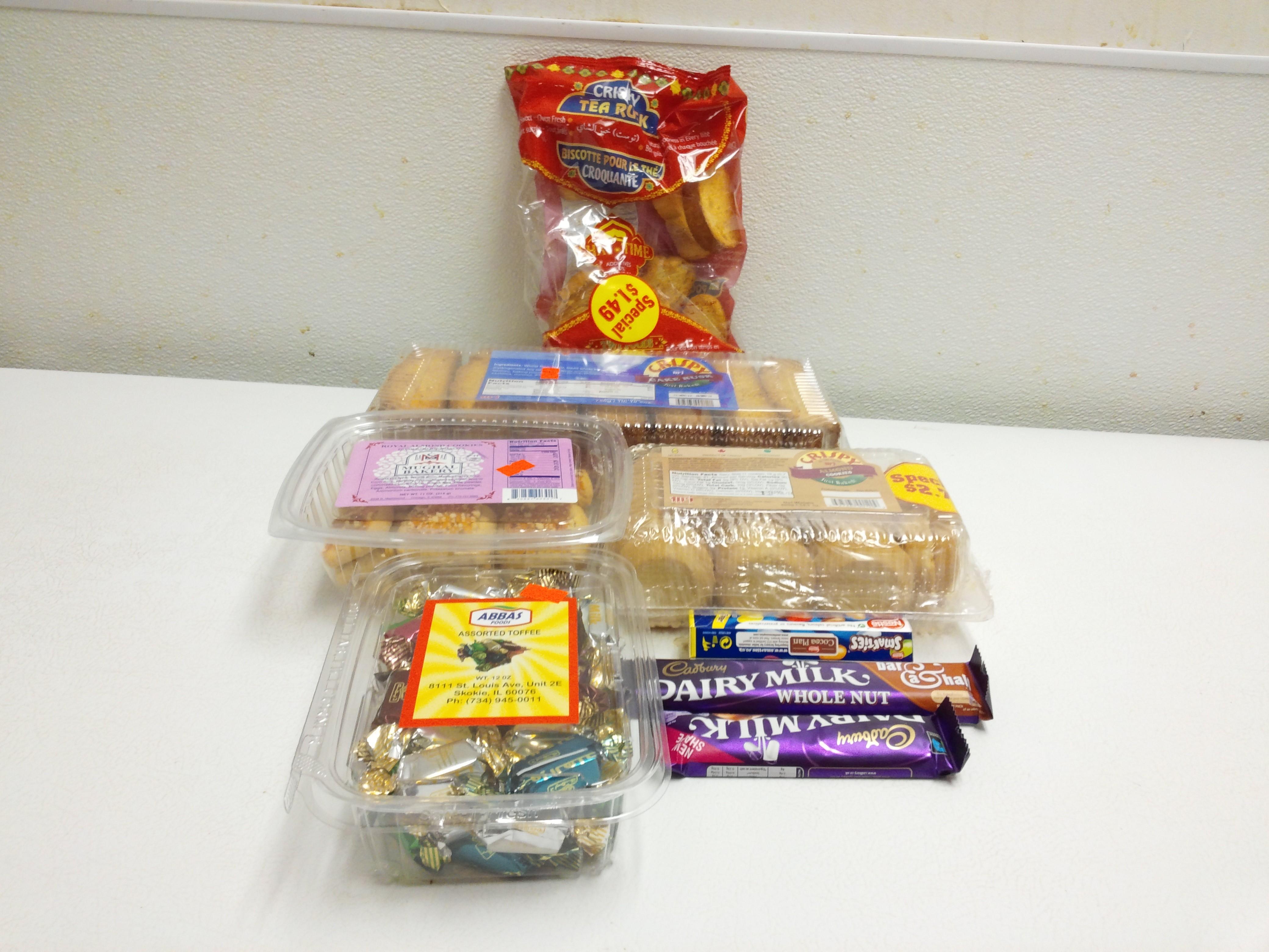 Rusks / Cookies / Candies