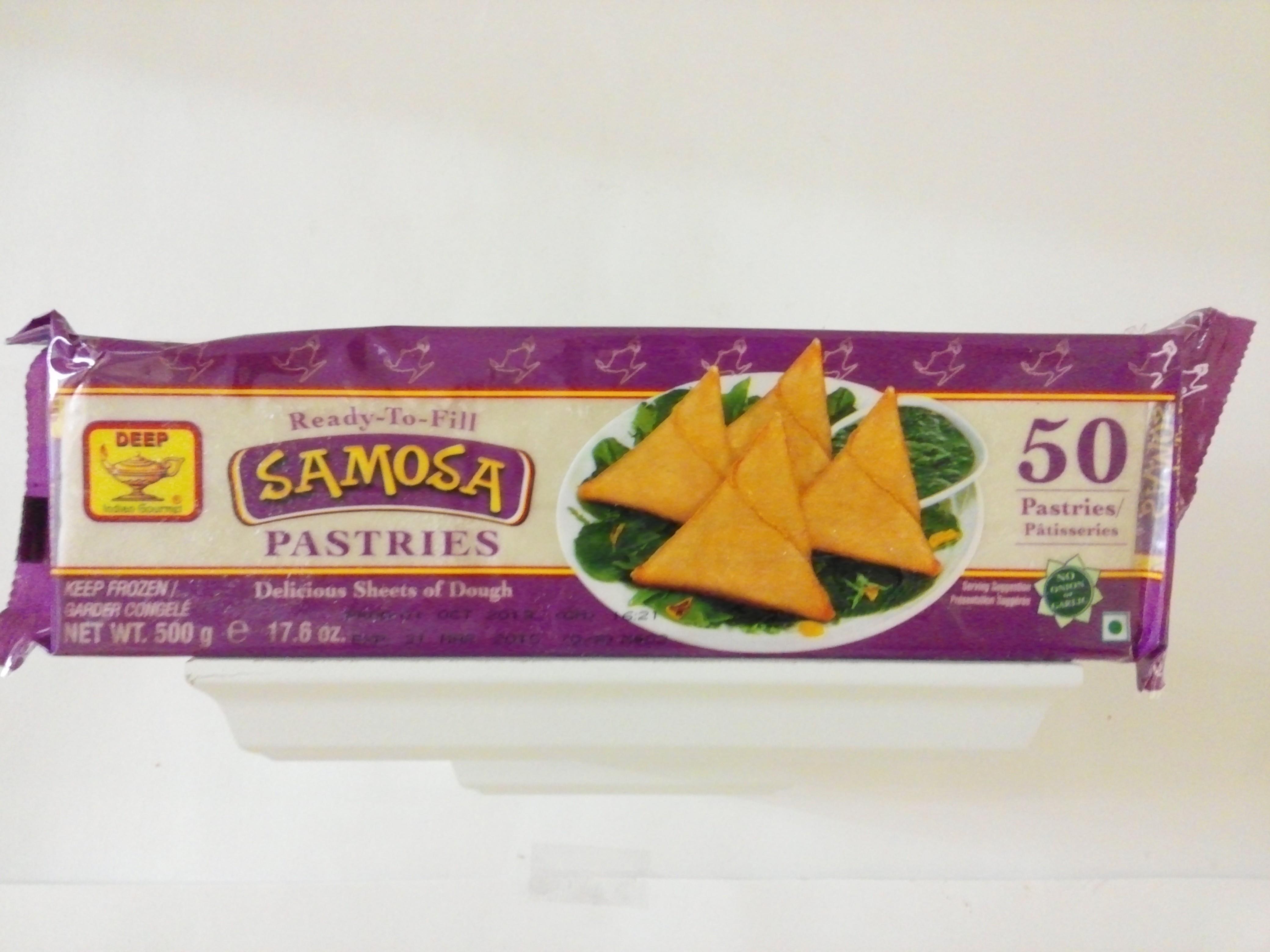 Deep's Samosa Pastries  50 pcs-17.6 oz