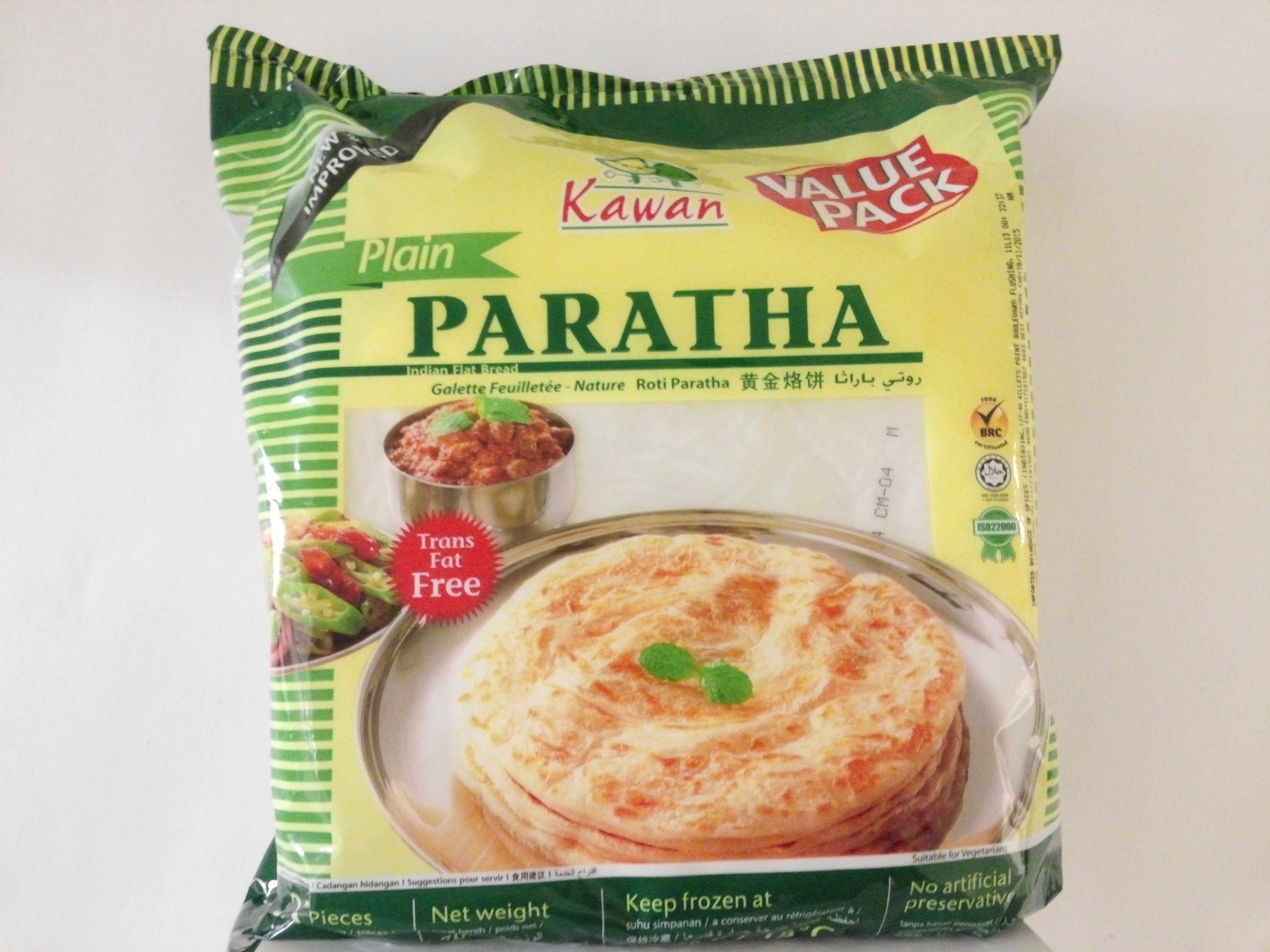Roti Paratha Kawan Kawan Plain Paratha Value