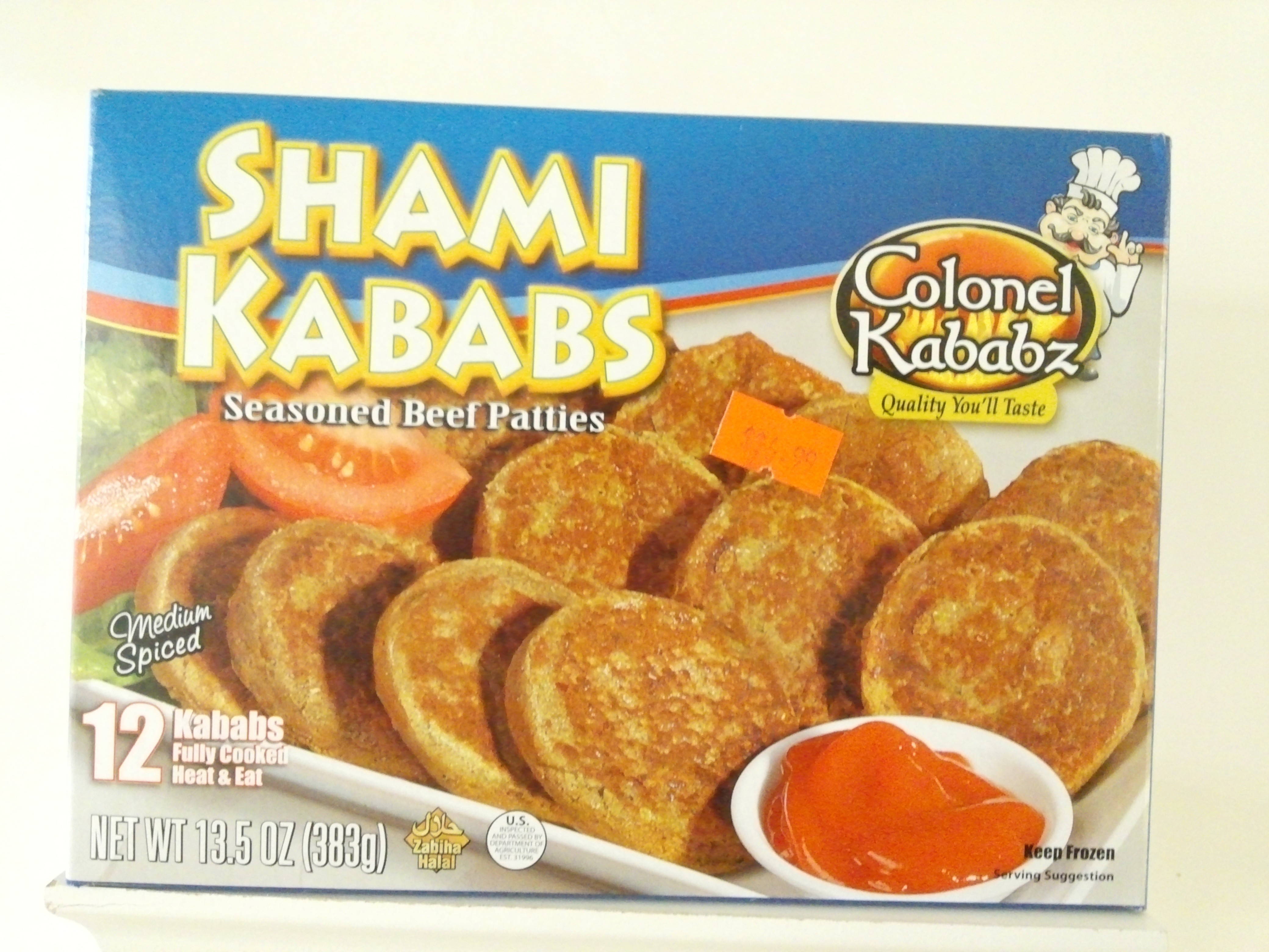 Colonel Beef Shami Kabab 12 pcs 383 grm