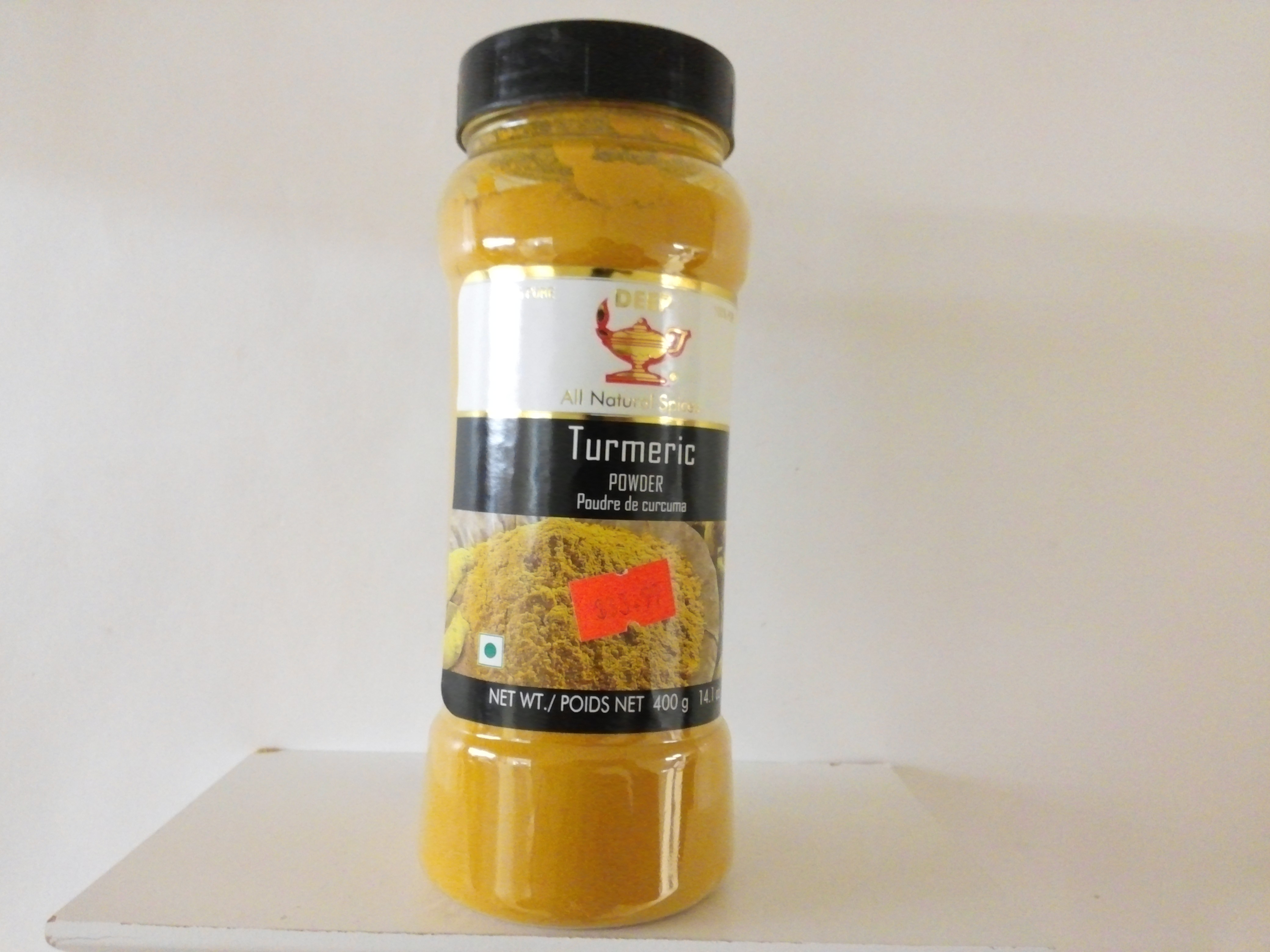 Deep Turmeric Powder in Jar 14 oz
