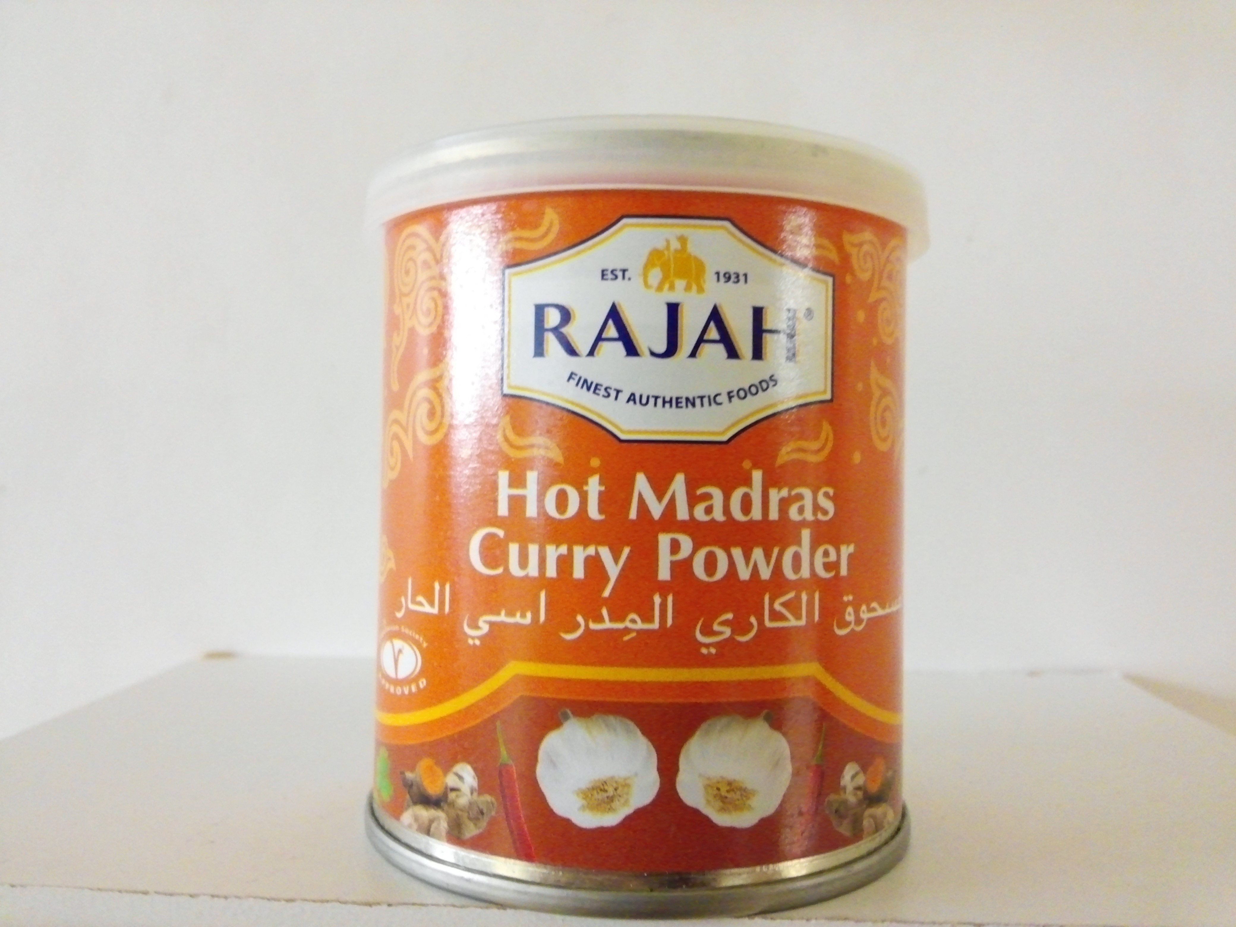 Rajah Hot Madras Curry Powder 100 grm