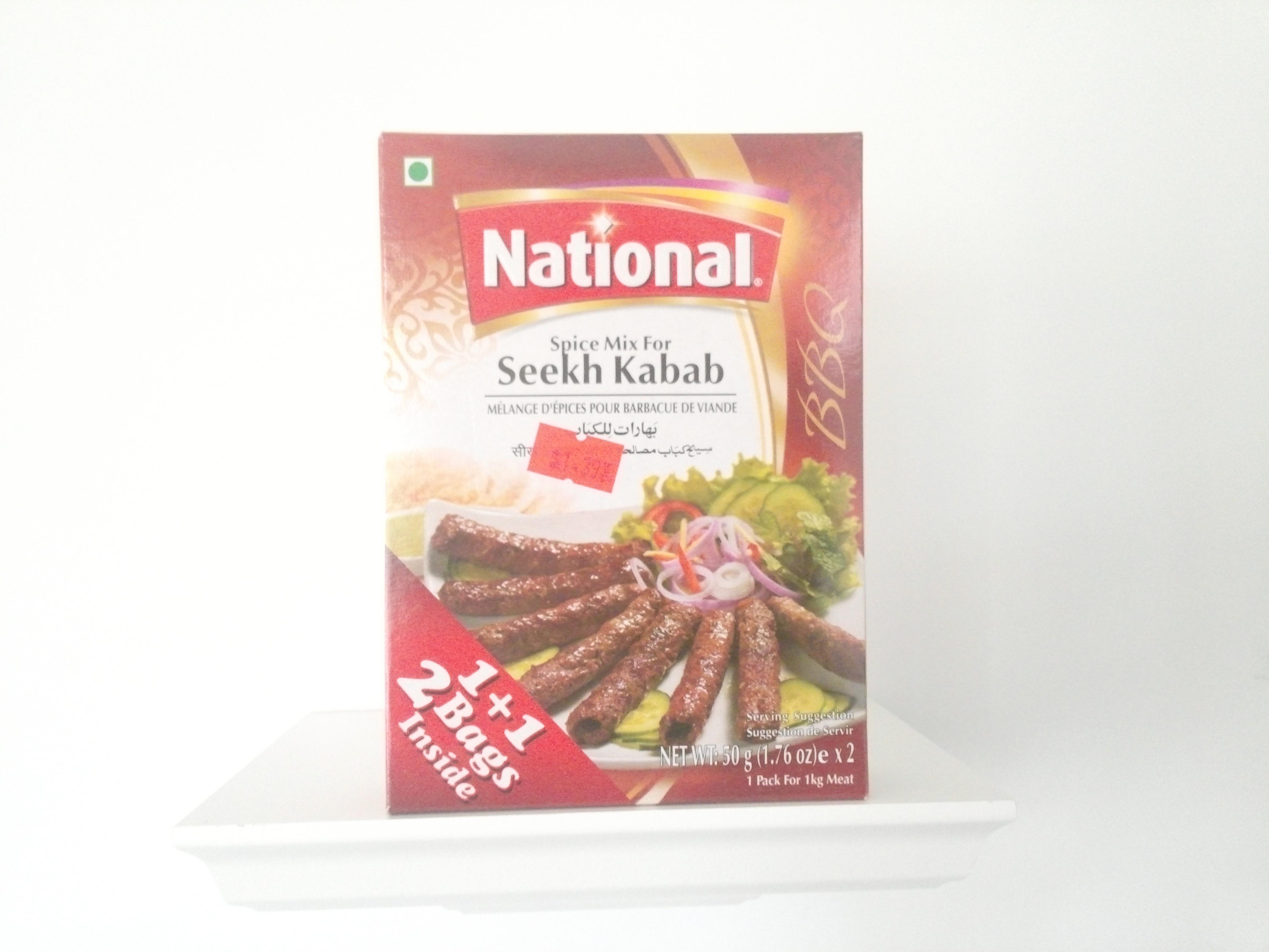 National Seekh Kabab Spice Mix 100 grm