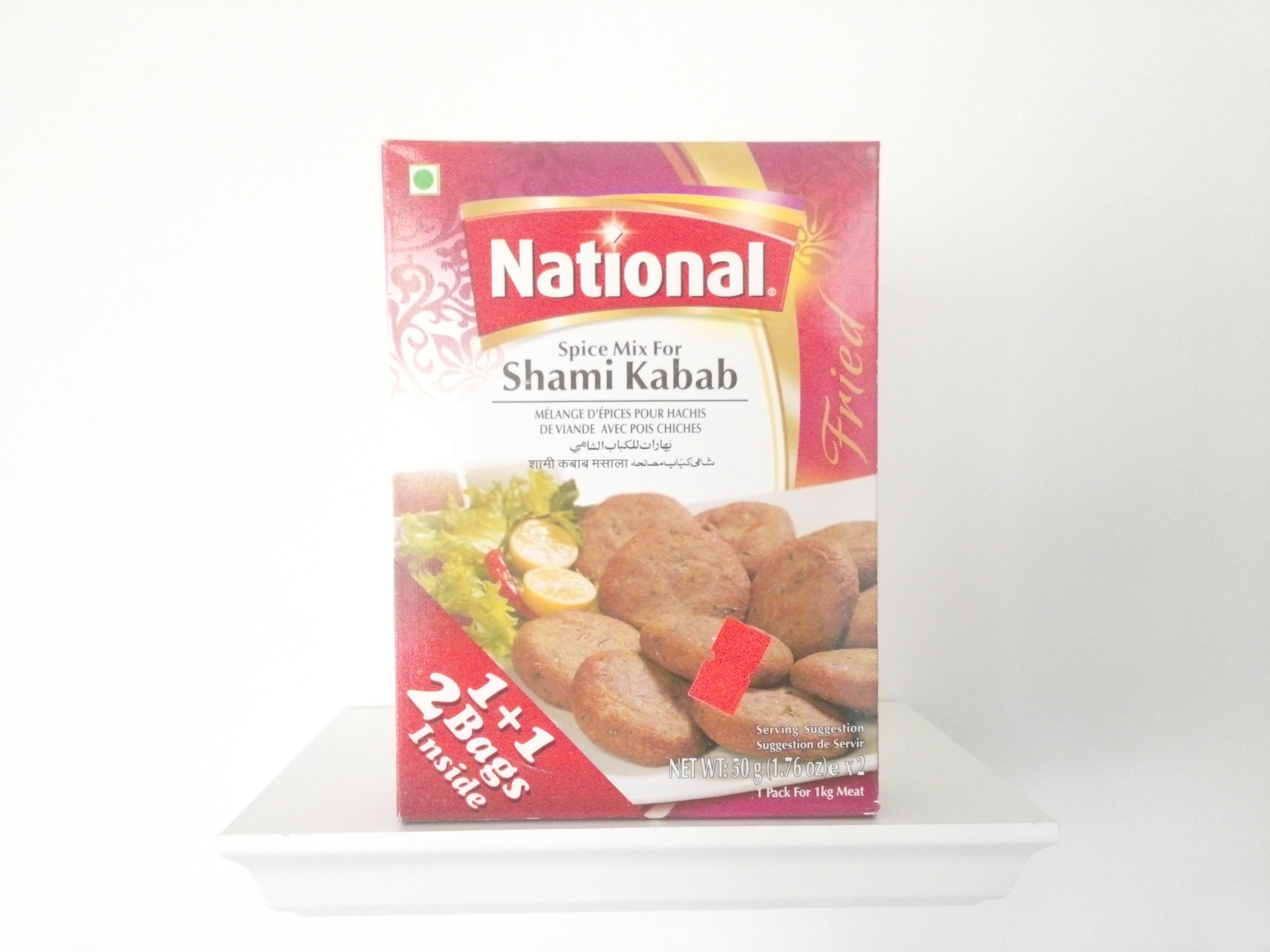 National Shami Kabab Spice Mix 100 grm