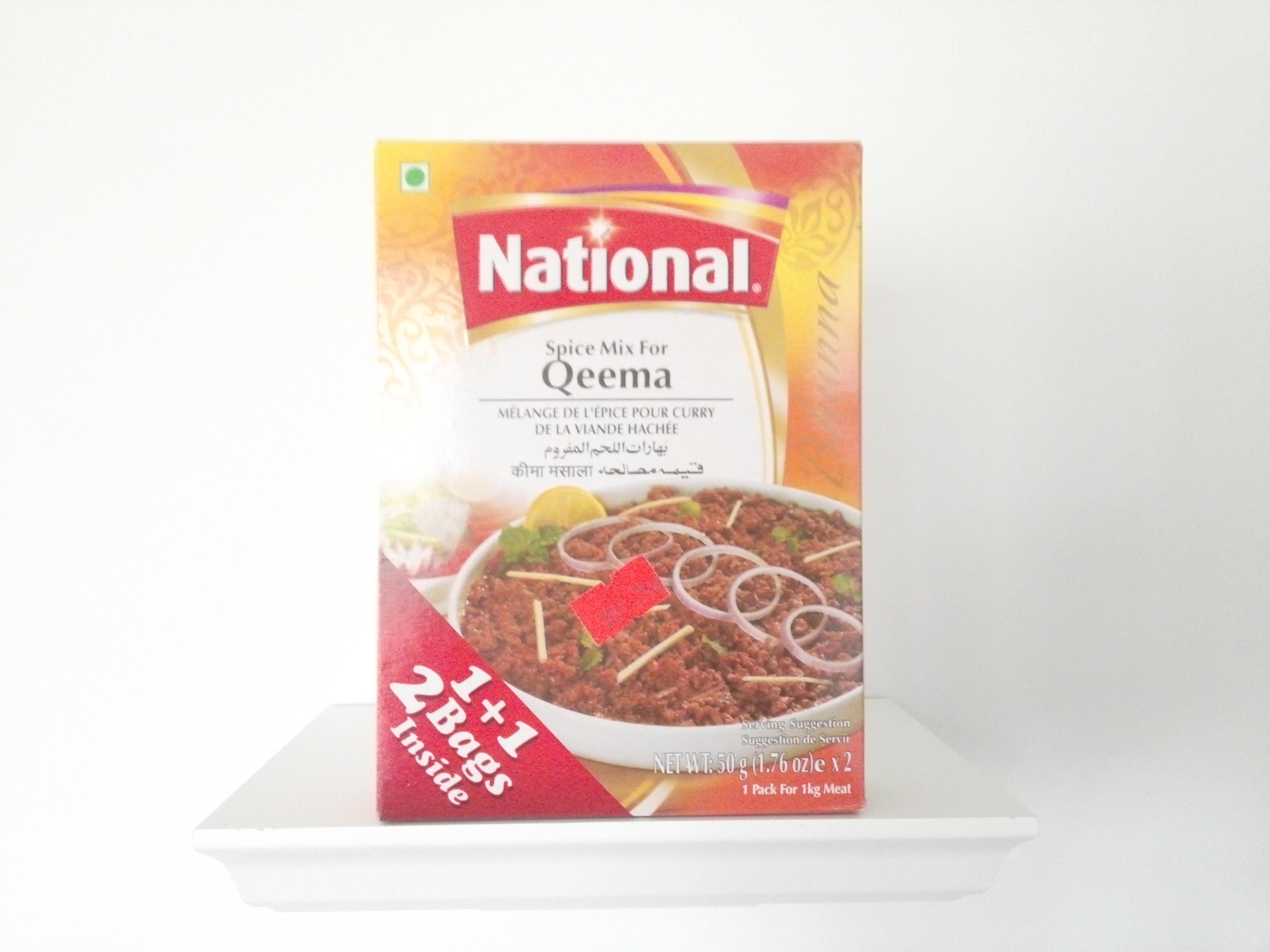 National Qeema Spice Mix 100 grm