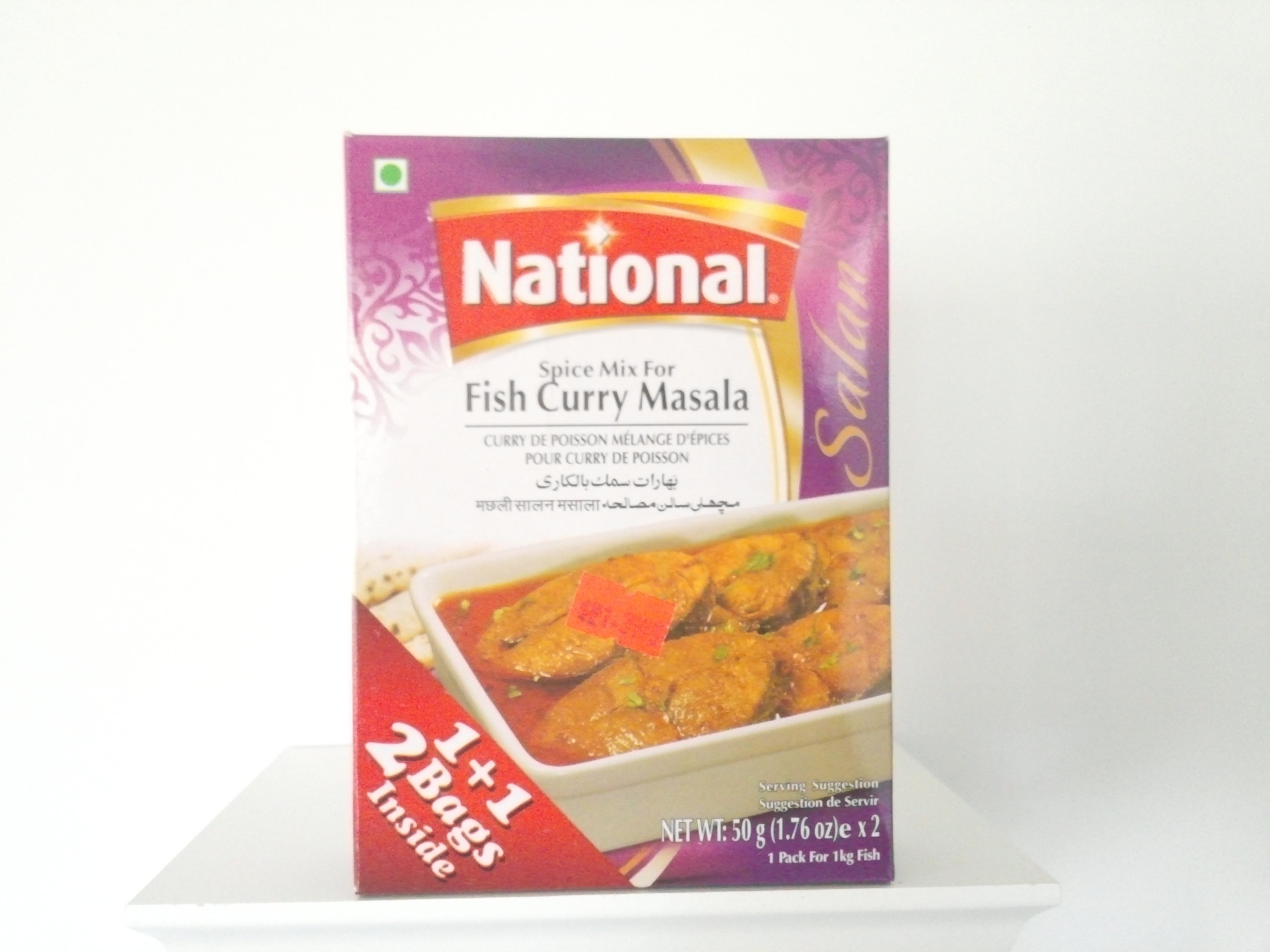 National Fish Curry Masala 100 grm