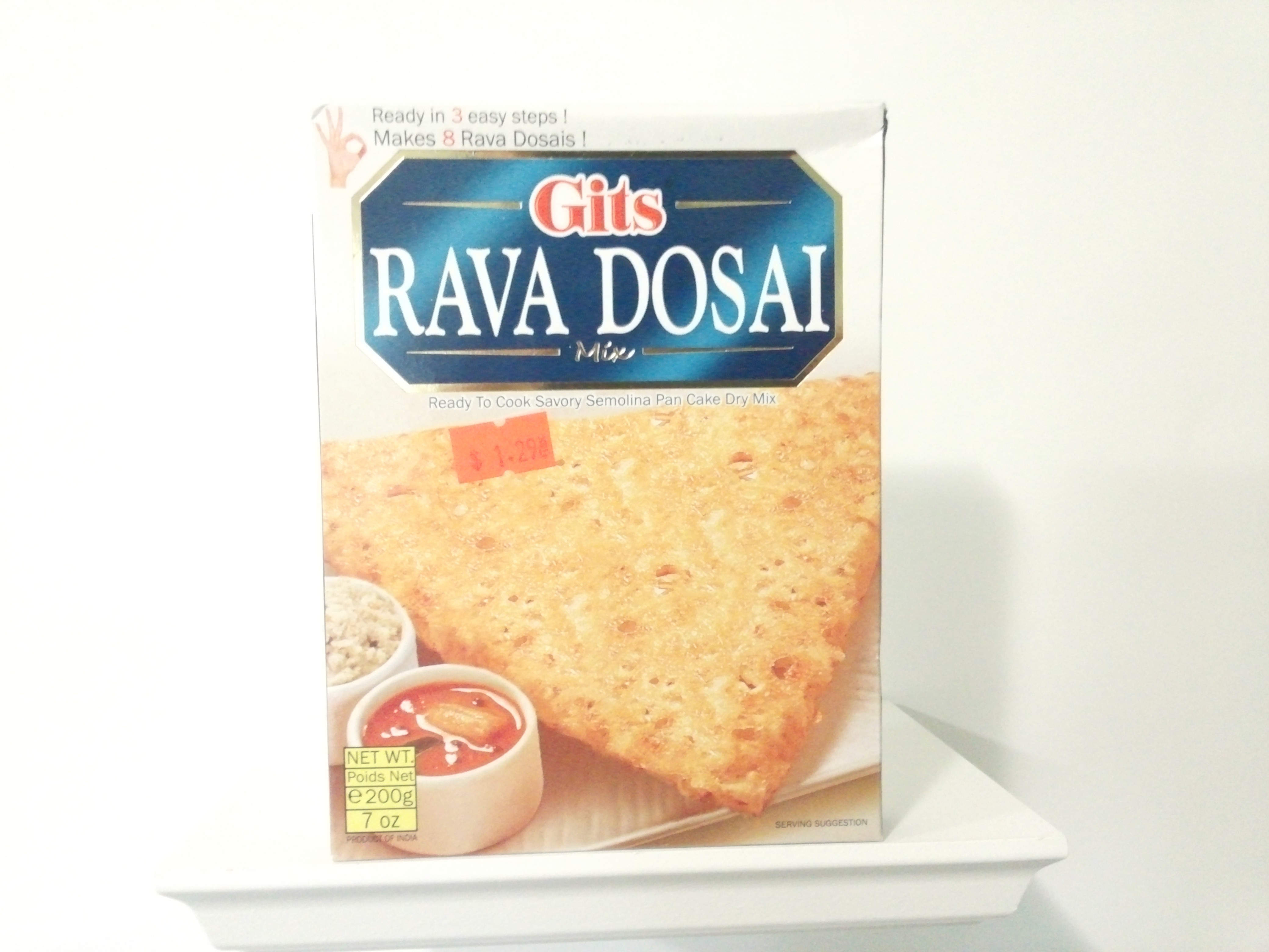 Gits Rava Dosai Mix 200 grm