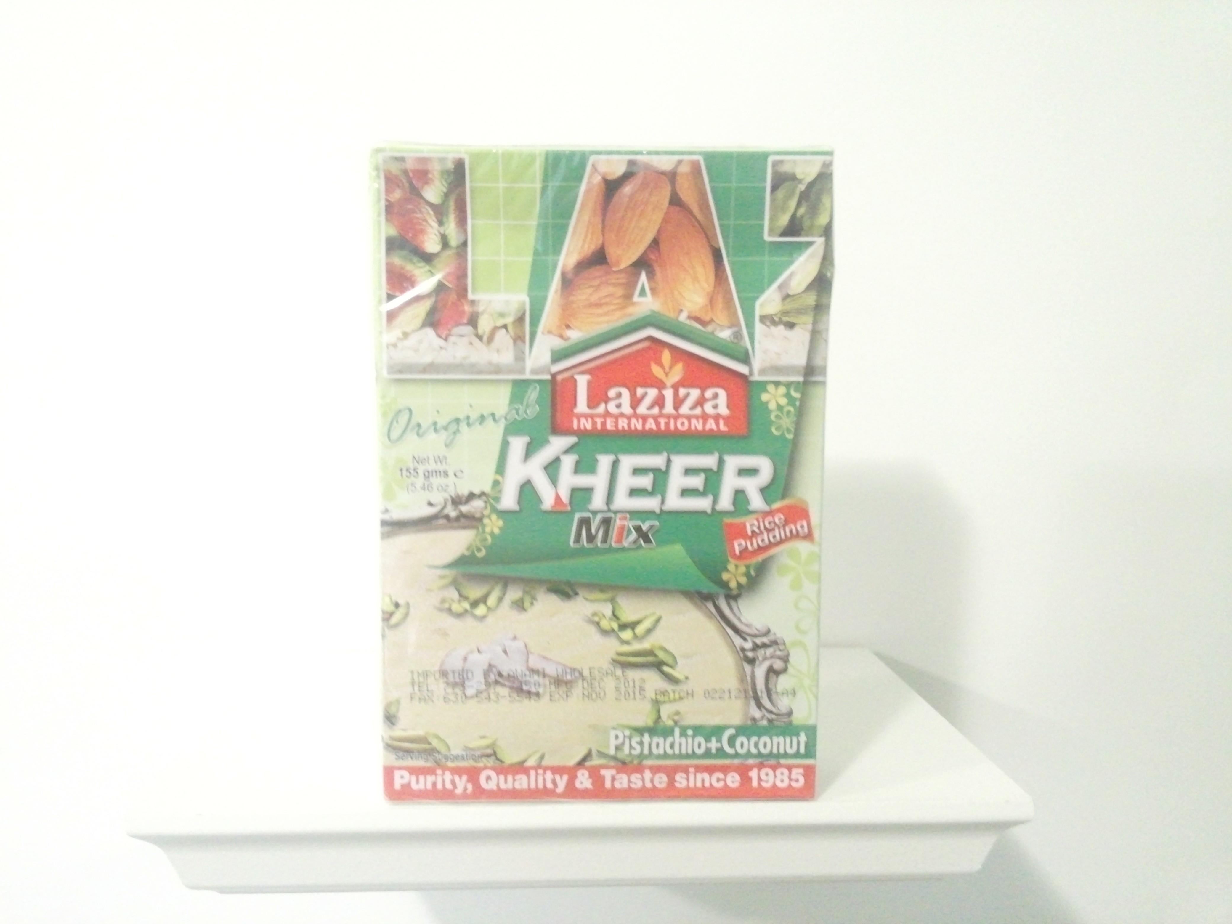 Laziza Kheer Mix (Pistachio+Coconut)155 grm