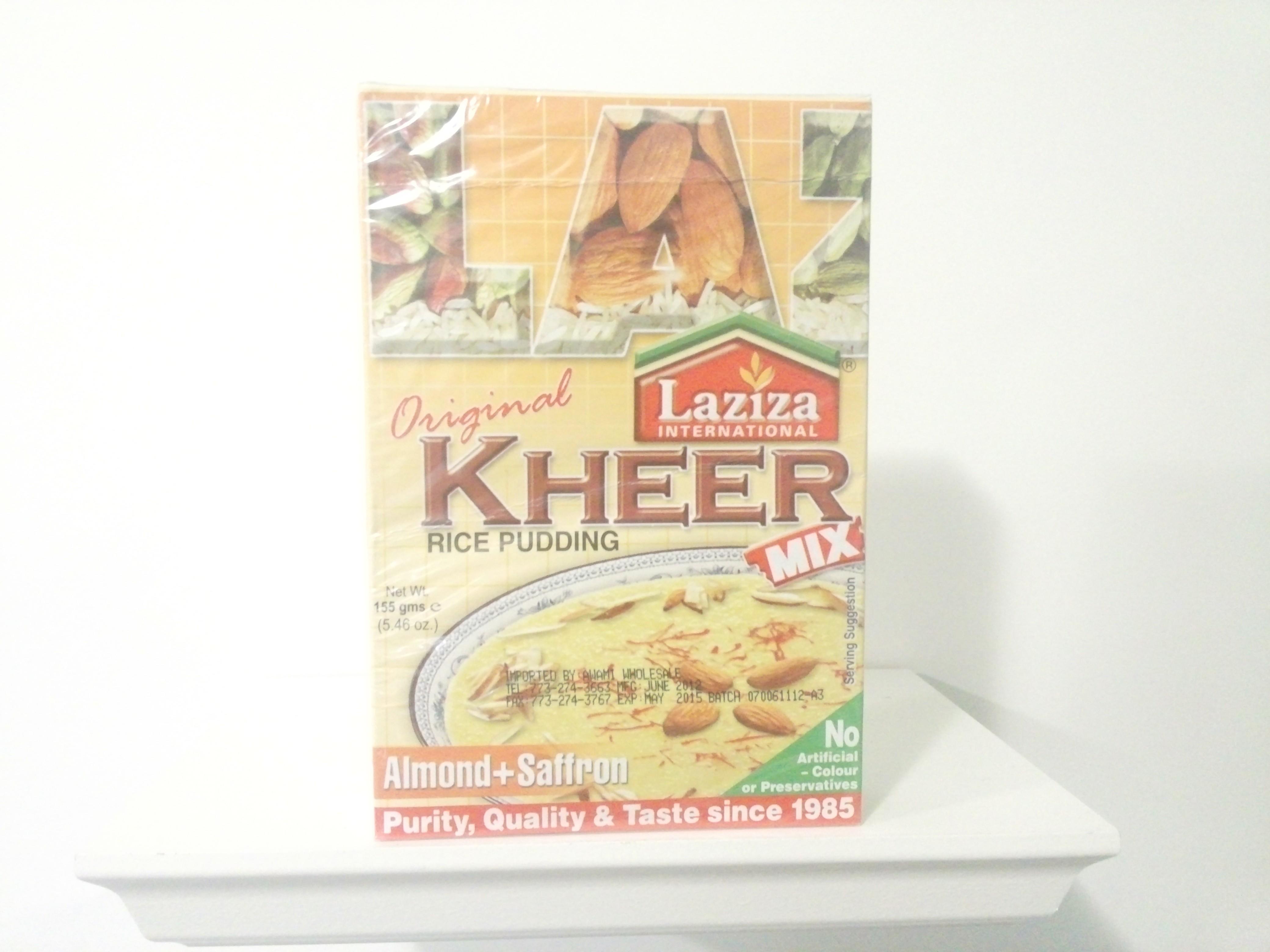 Laziza Kheer Mix (Almond+Saffron) 155 grm