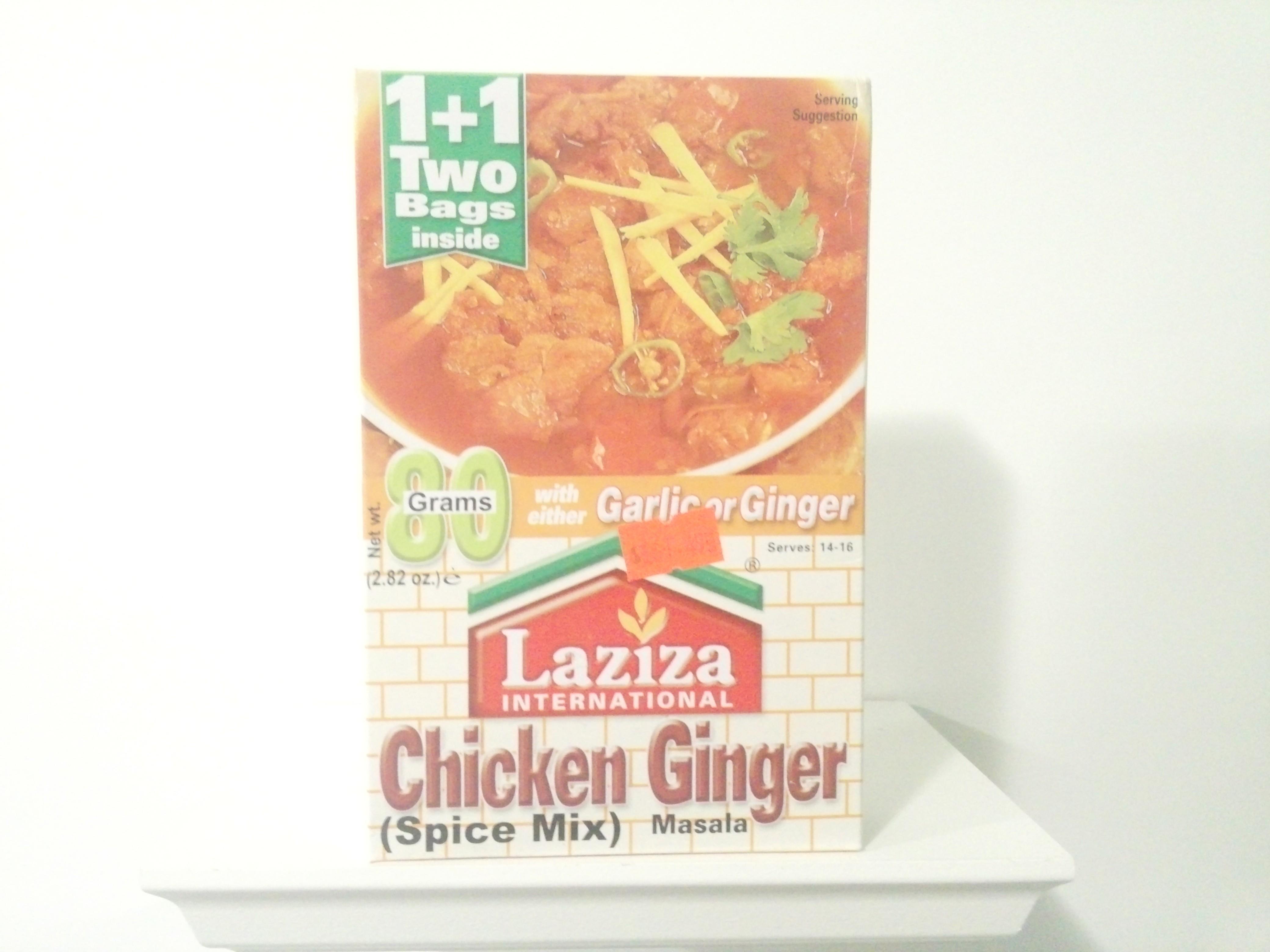 Laziza Chicken Ginger Spice Mix 80 grm