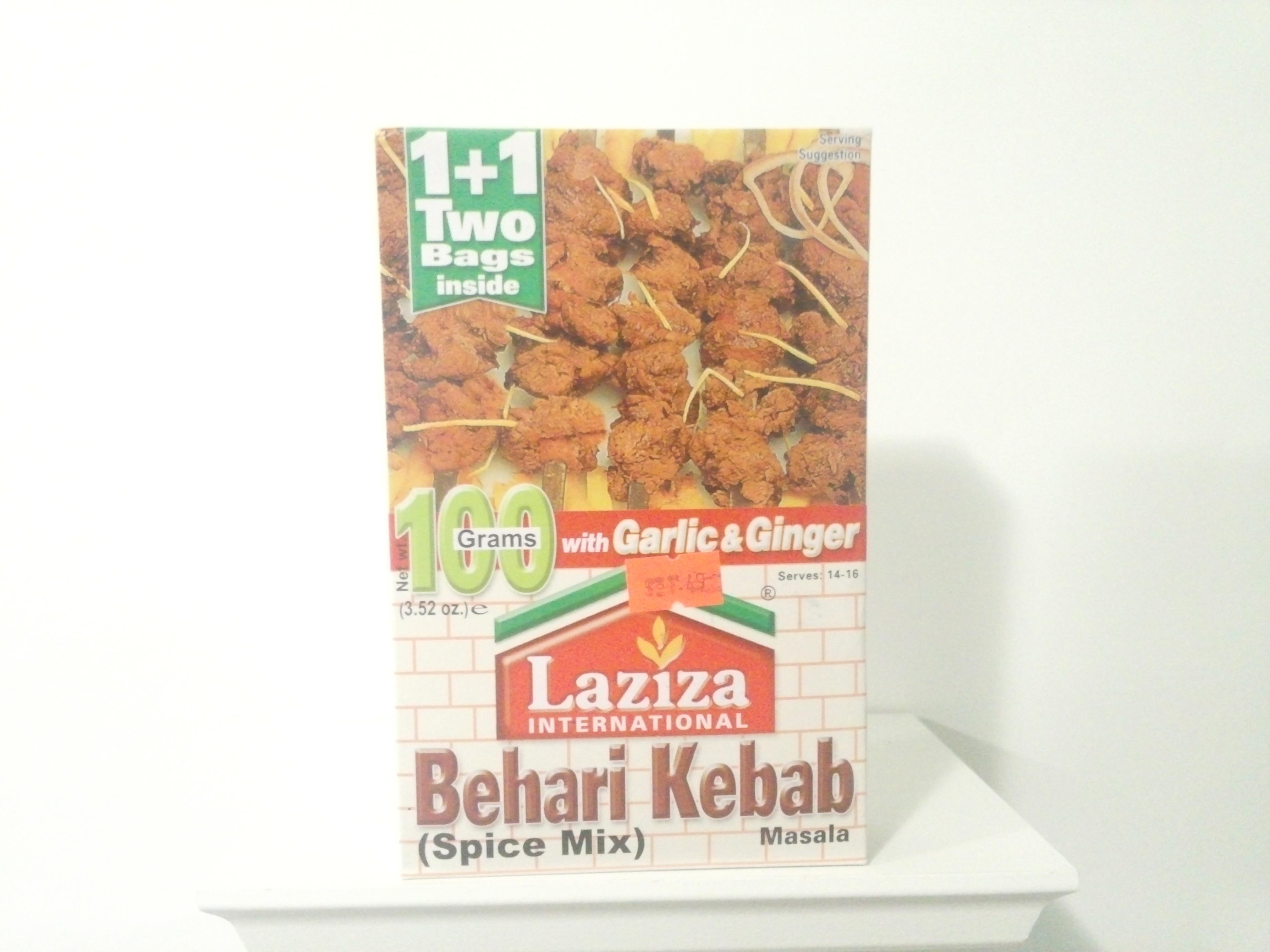 Laziza Behari Kebab Spice Mix 100 grm
