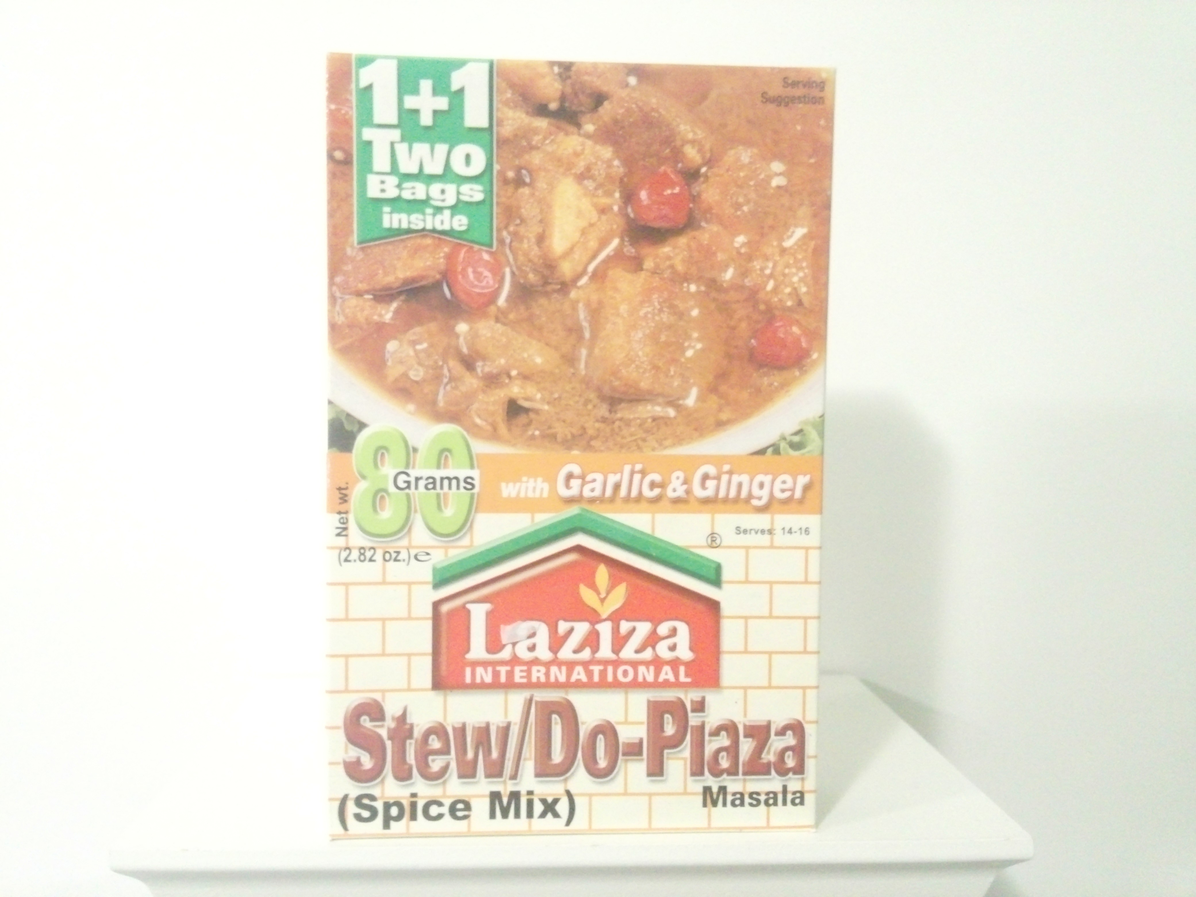 Laziza Stew/Do-Piaza Spice Mix 80 grm