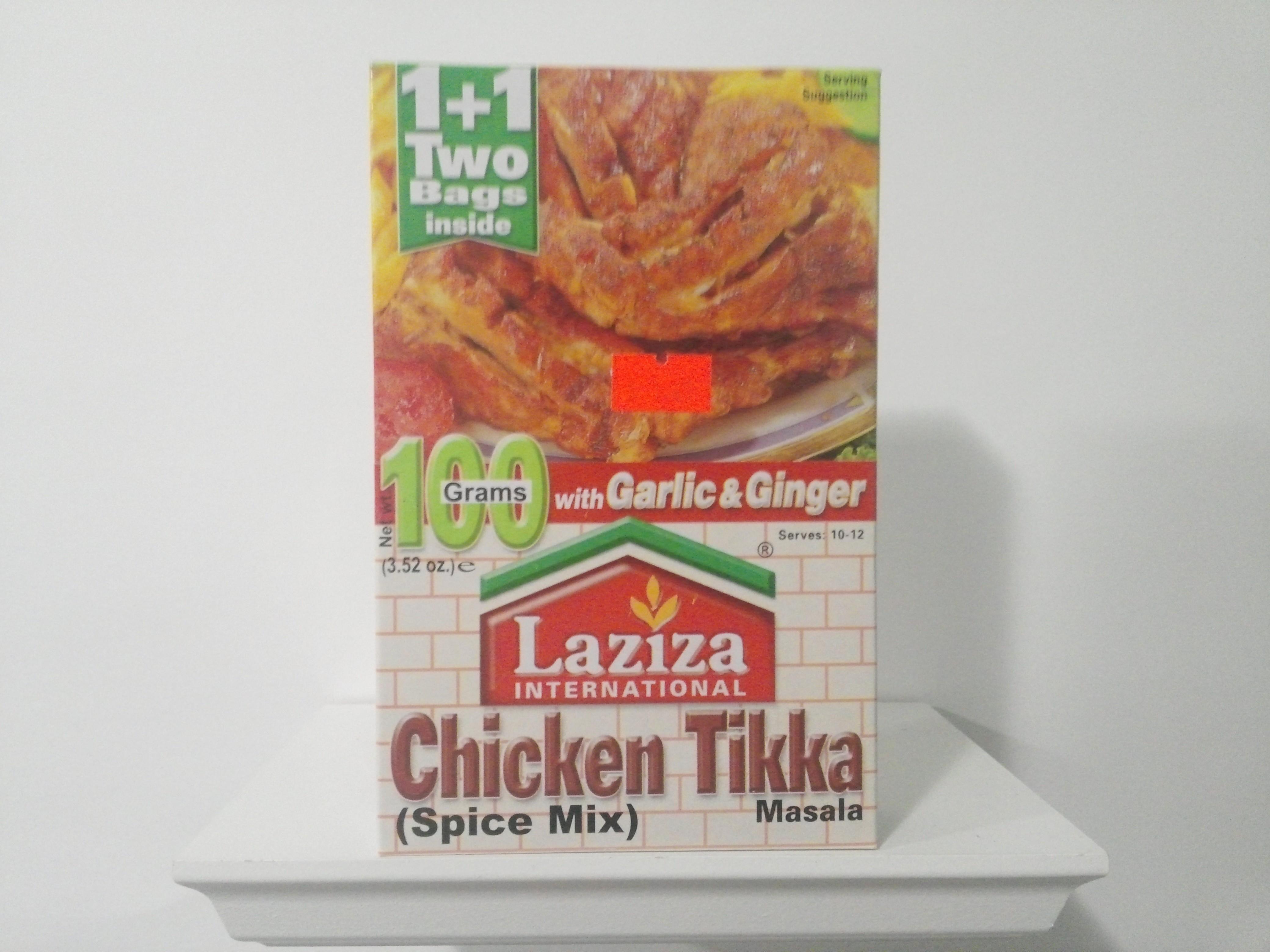 Laziza Chicken Tikka Spice Mix 100 grm