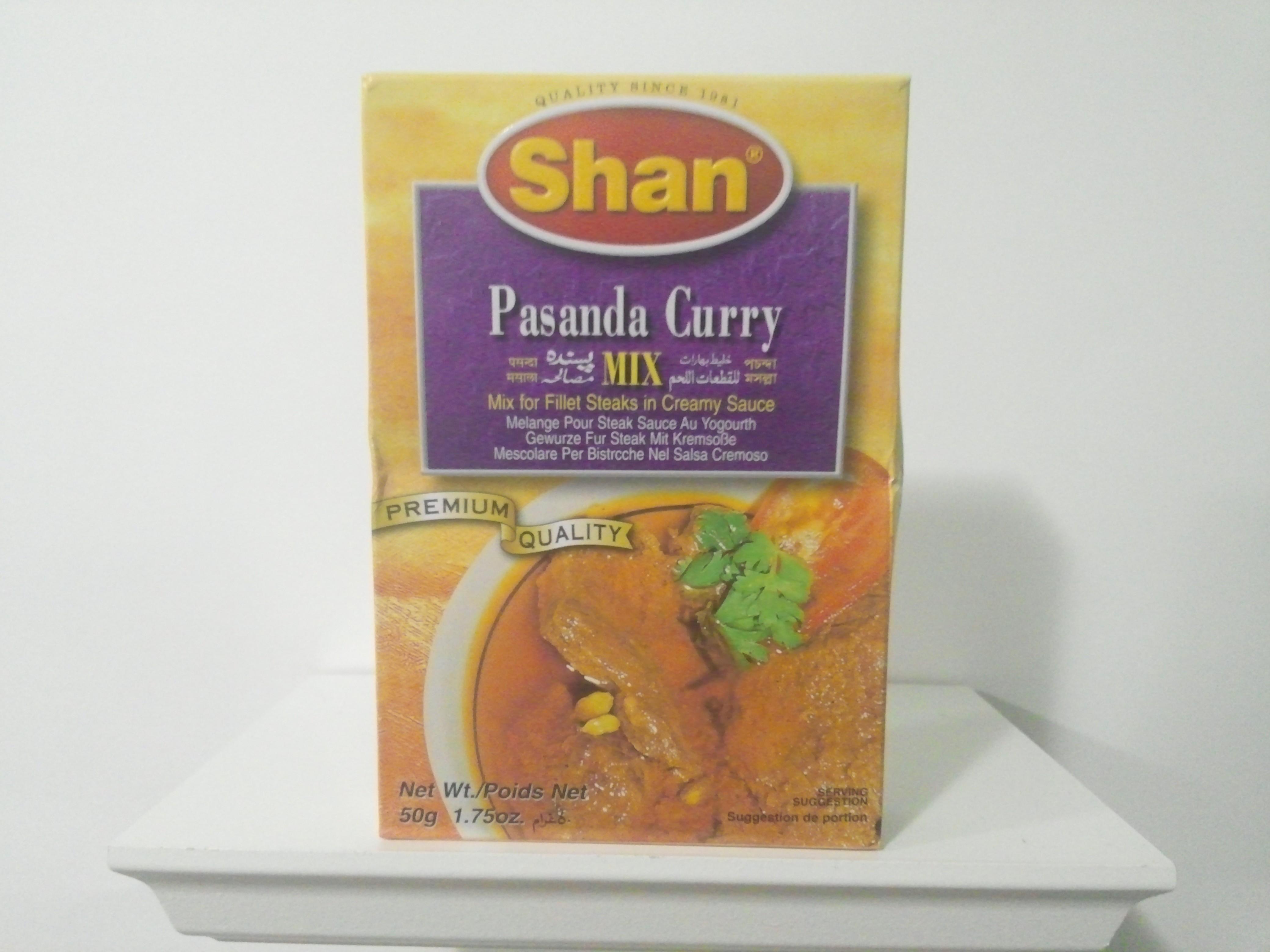 Shan Pasanda Curry Spice Mix 50 grm