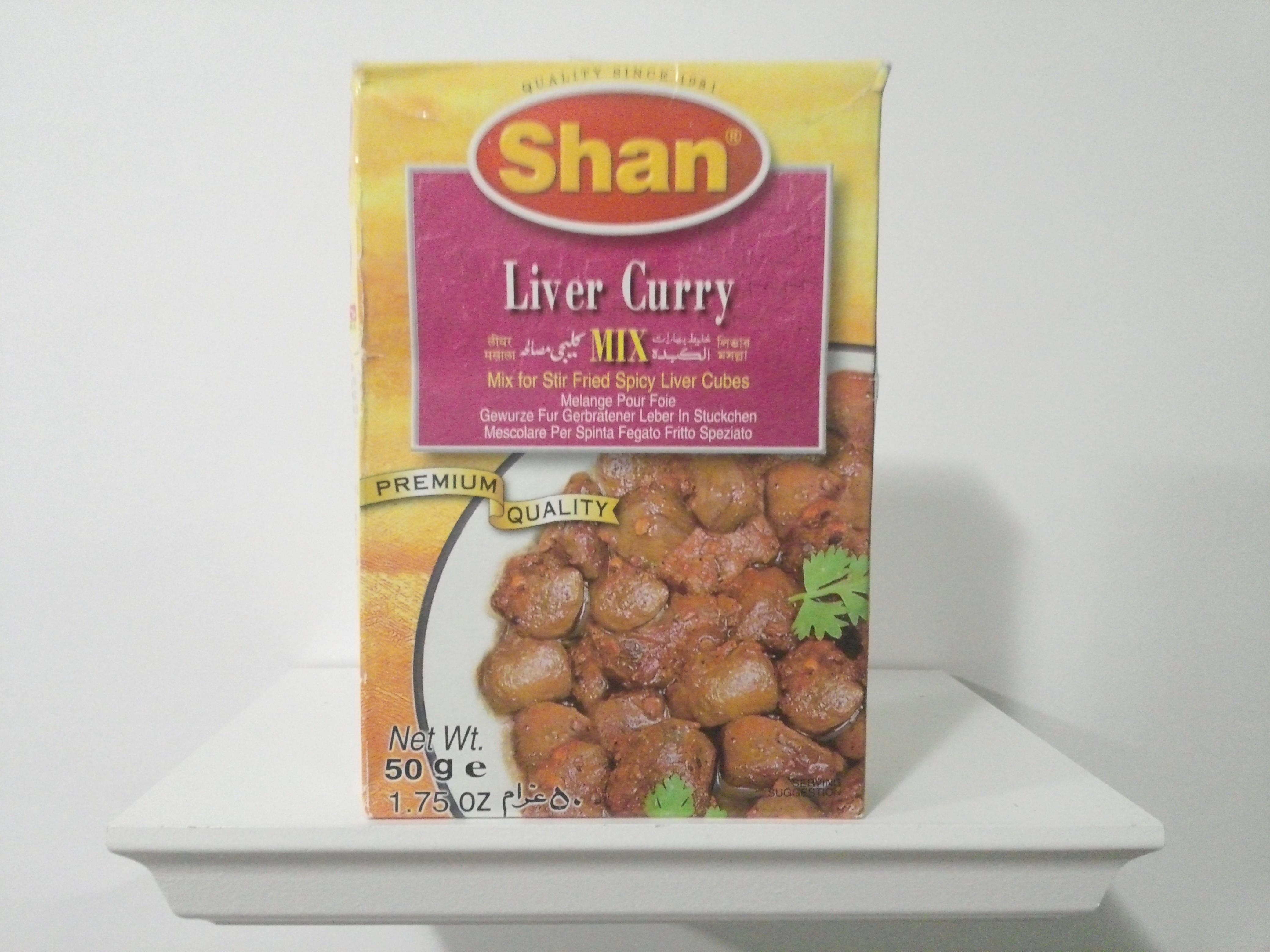 Shan Liver Curry Spice Mix 50 grm