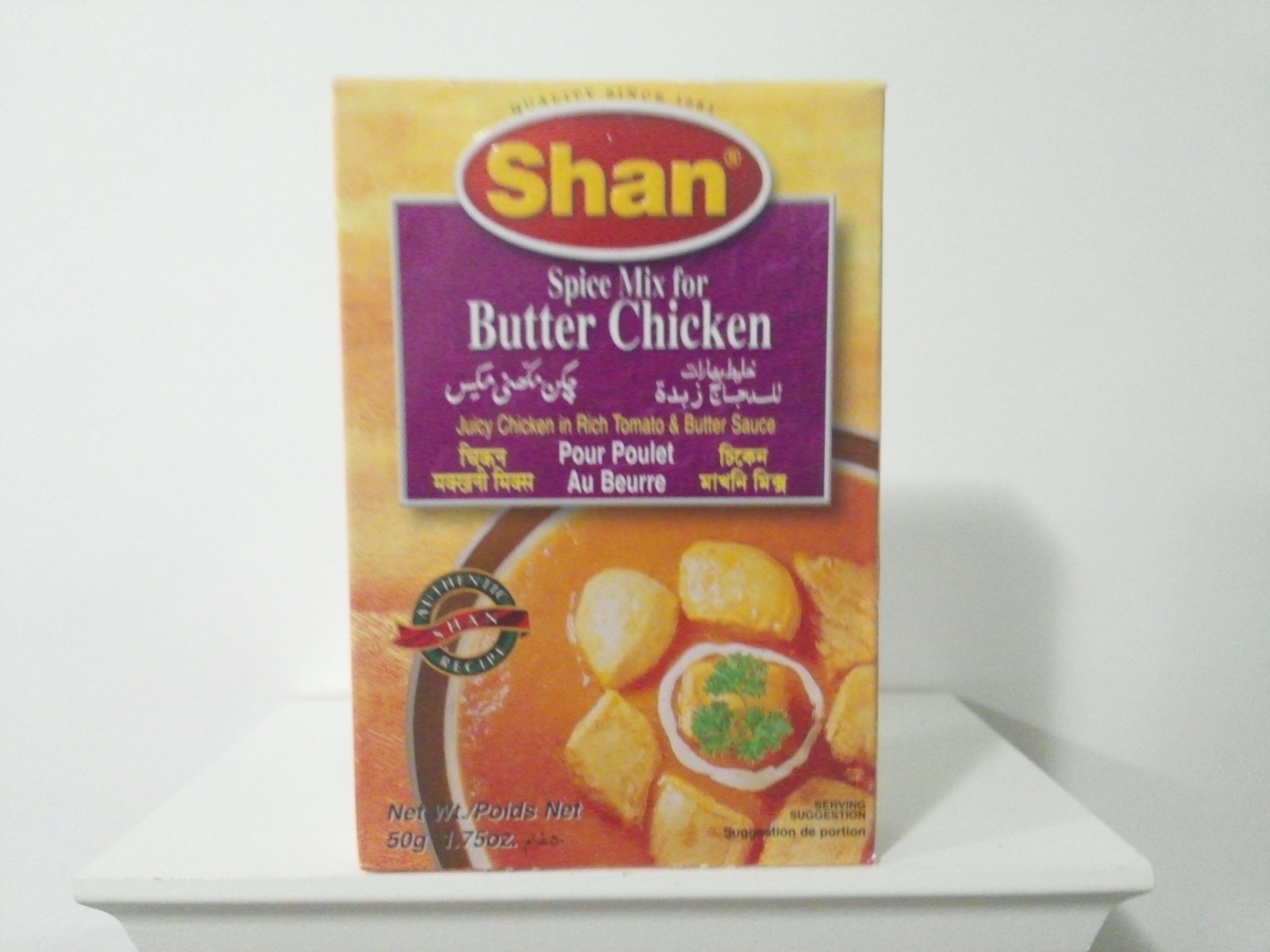 Shan Butter Chicken Spice Mix 50 grm