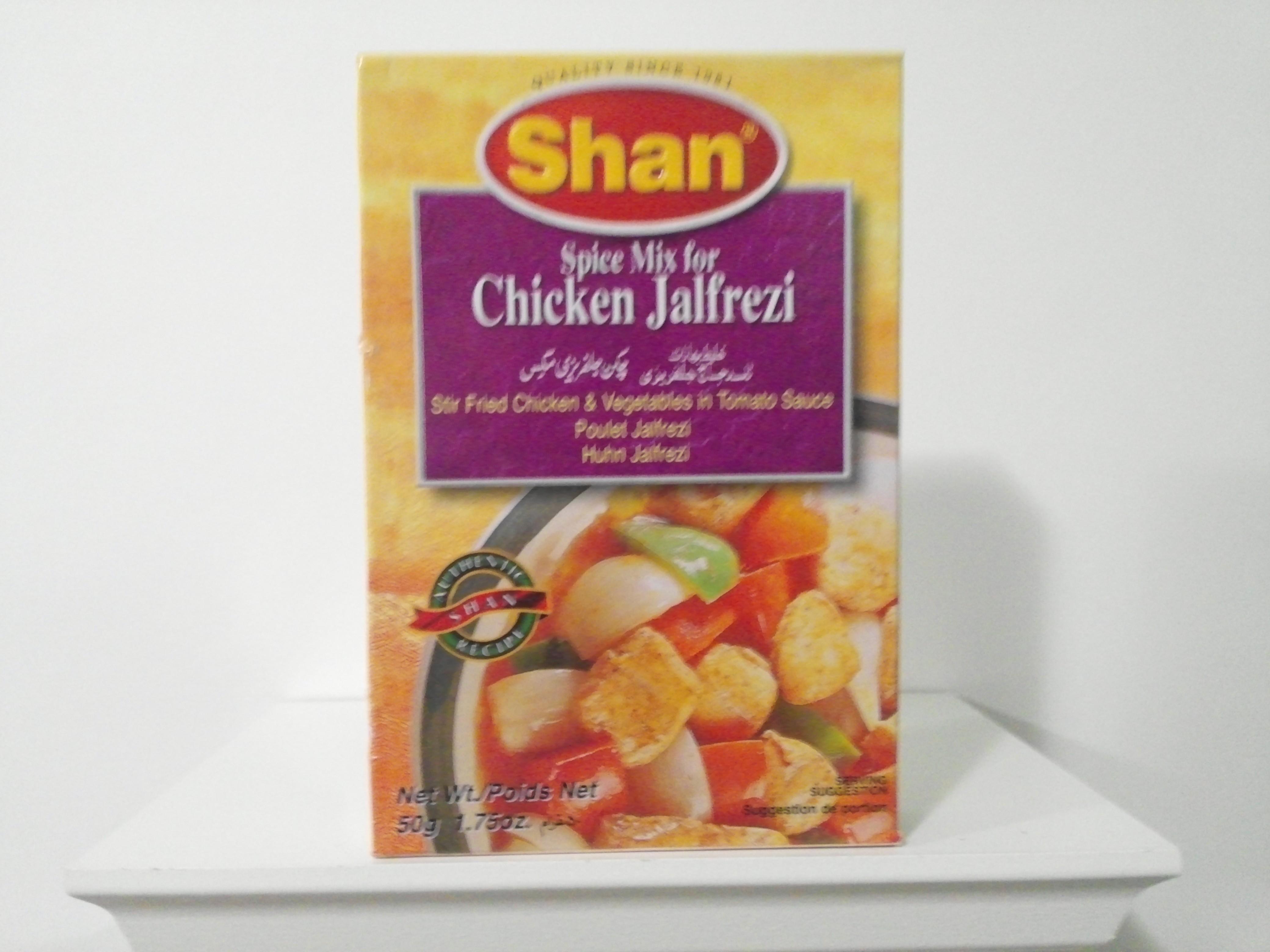 Shan Chicken Jalfrezi Spice Mix 50 grm