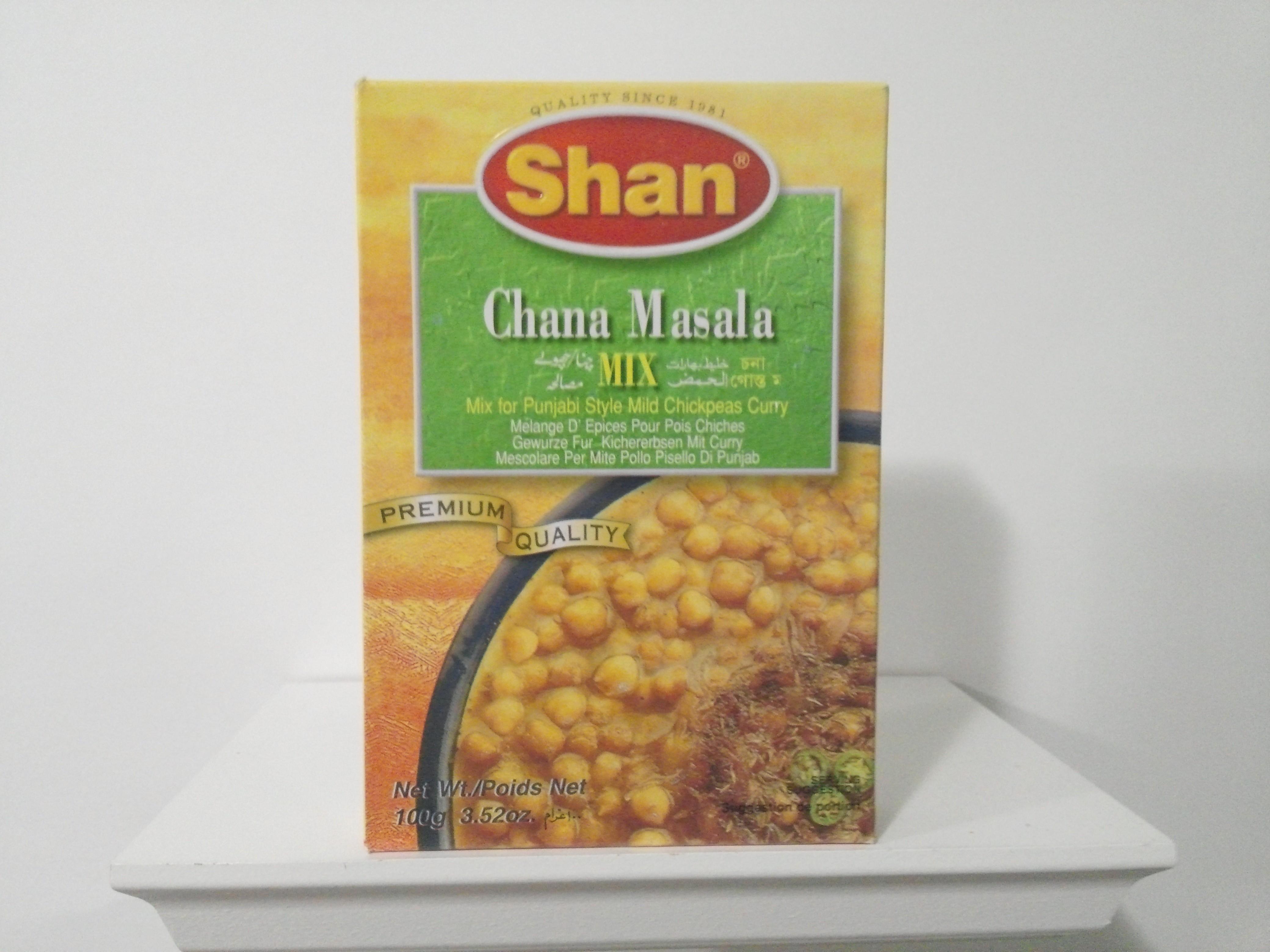 Shan Chana Masala Spice Mix 100 grm