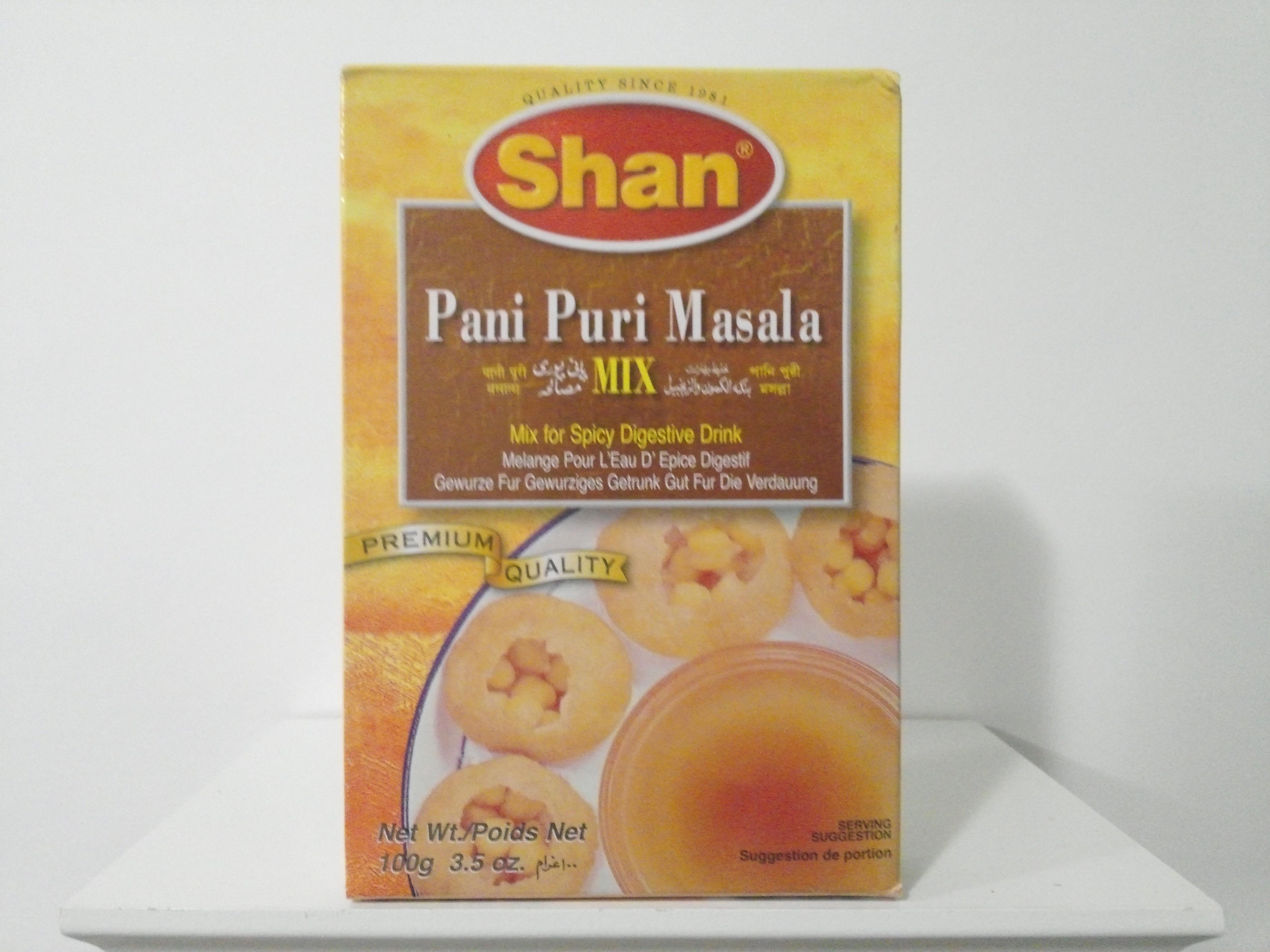 Shan Pani Puri Masala Spice Mix 100 grm