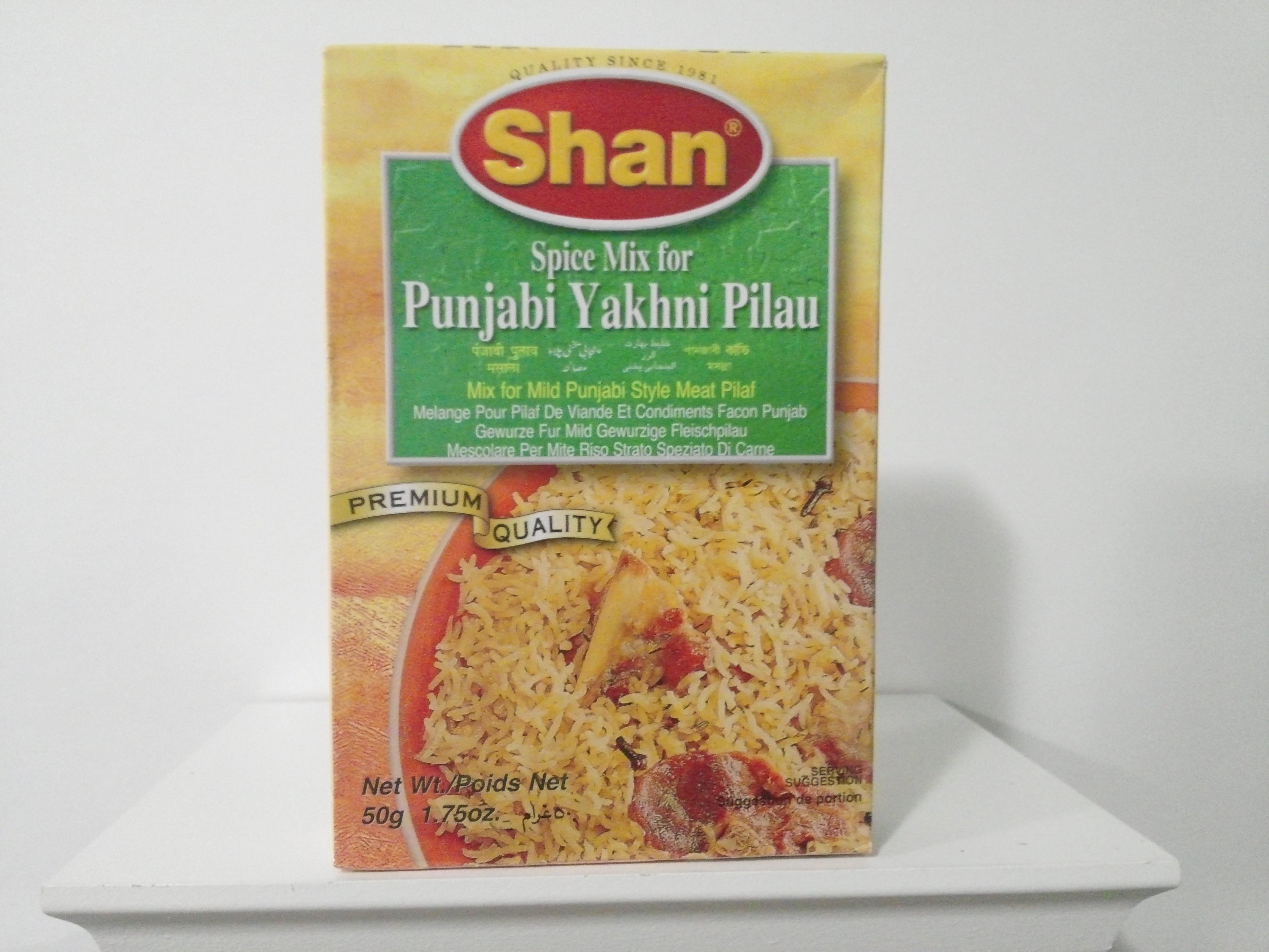 Shan Punjabi Yakhni Pilau Spice Mix 50 grm