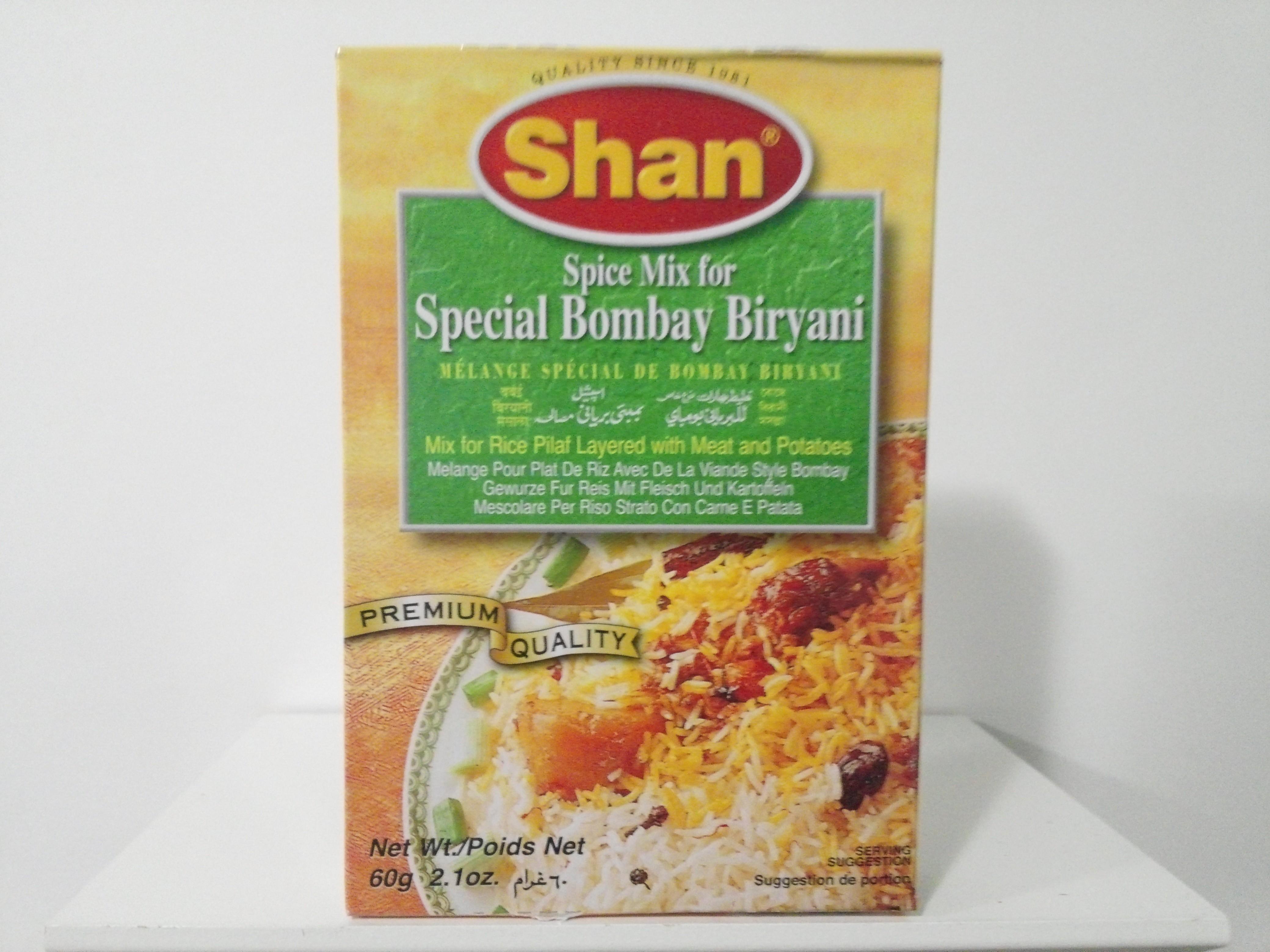 Shan Special Bombay Biryani Spice Mix 60 grm