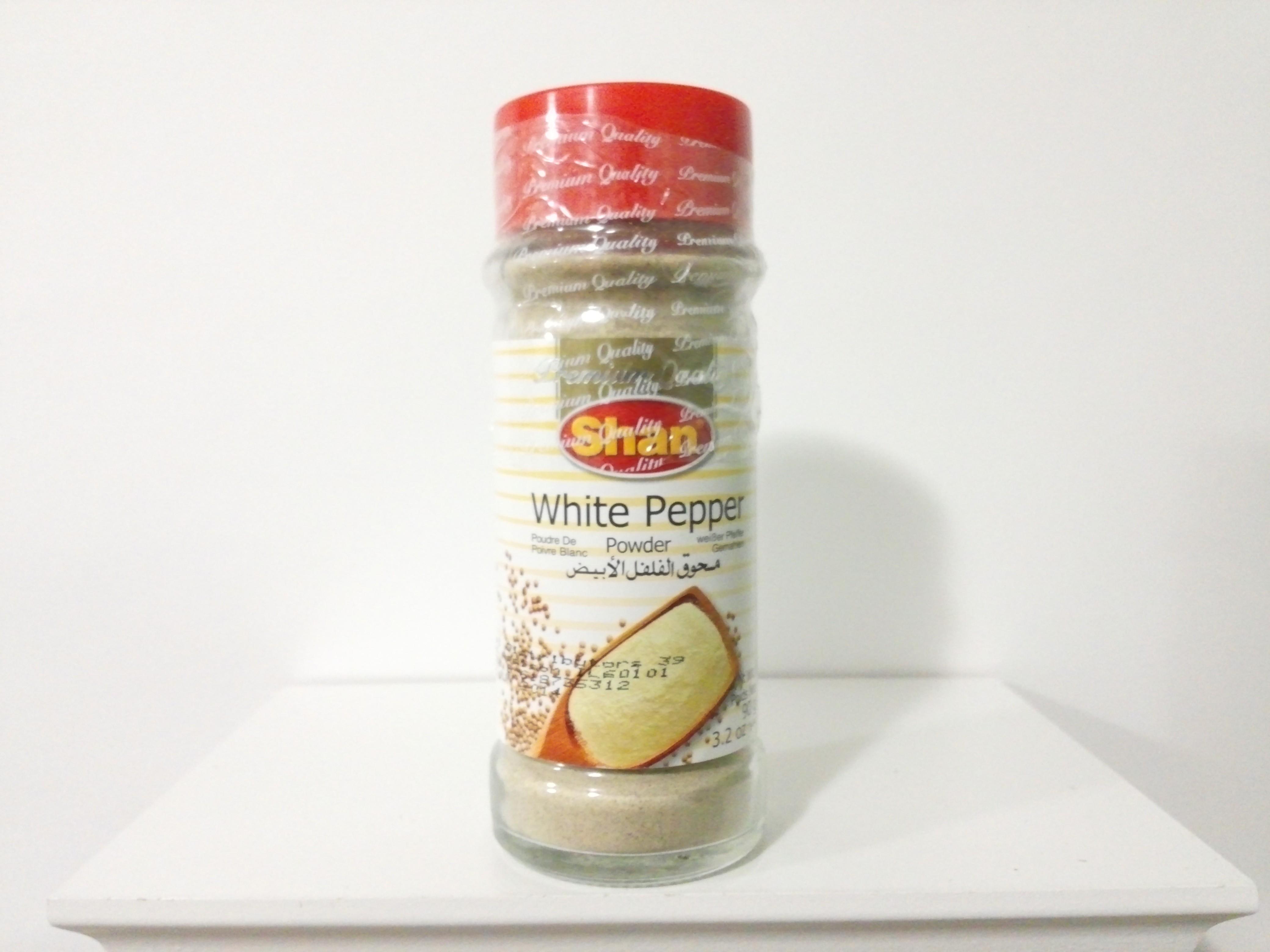 Shan Shaker-White Pepper Powder 90 grm