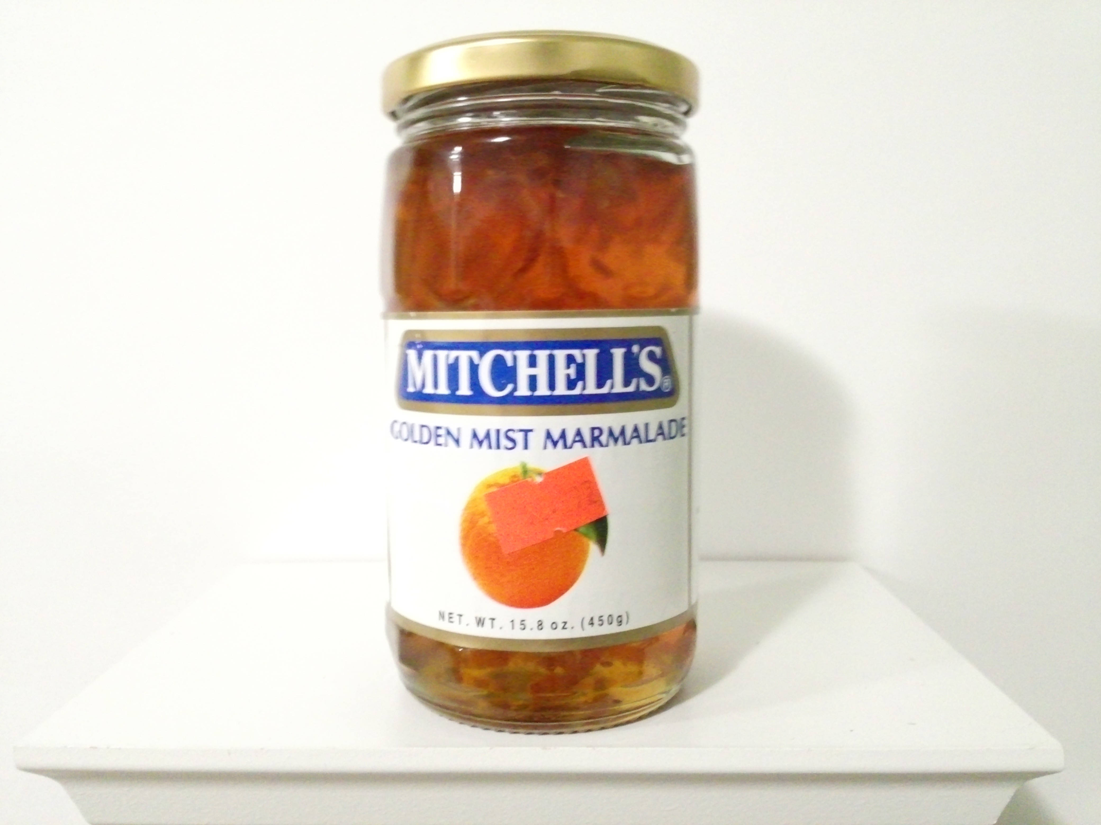 Mitchell's Golden Mist Marmalade Jam 450 grm
