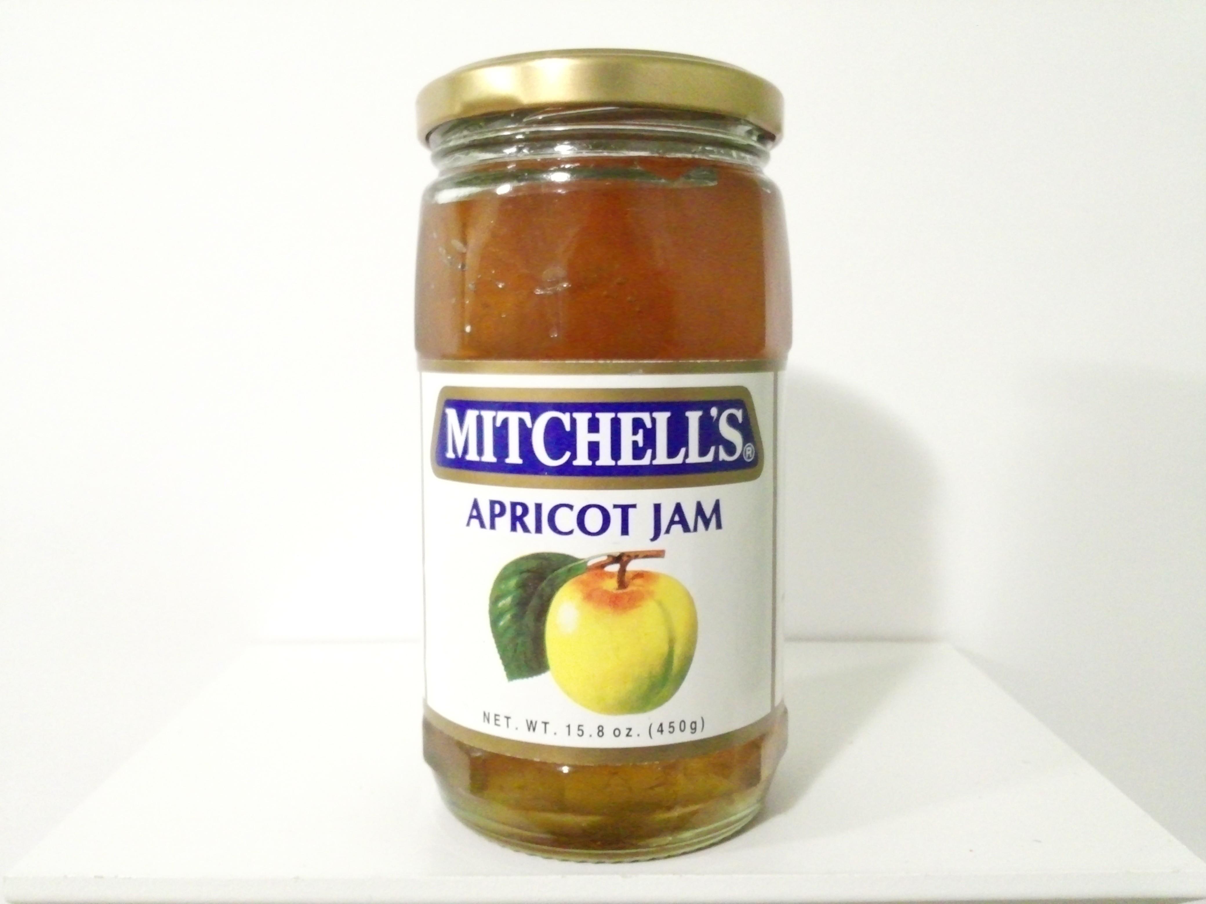 Mitchell's Apricot Jam 450 grm