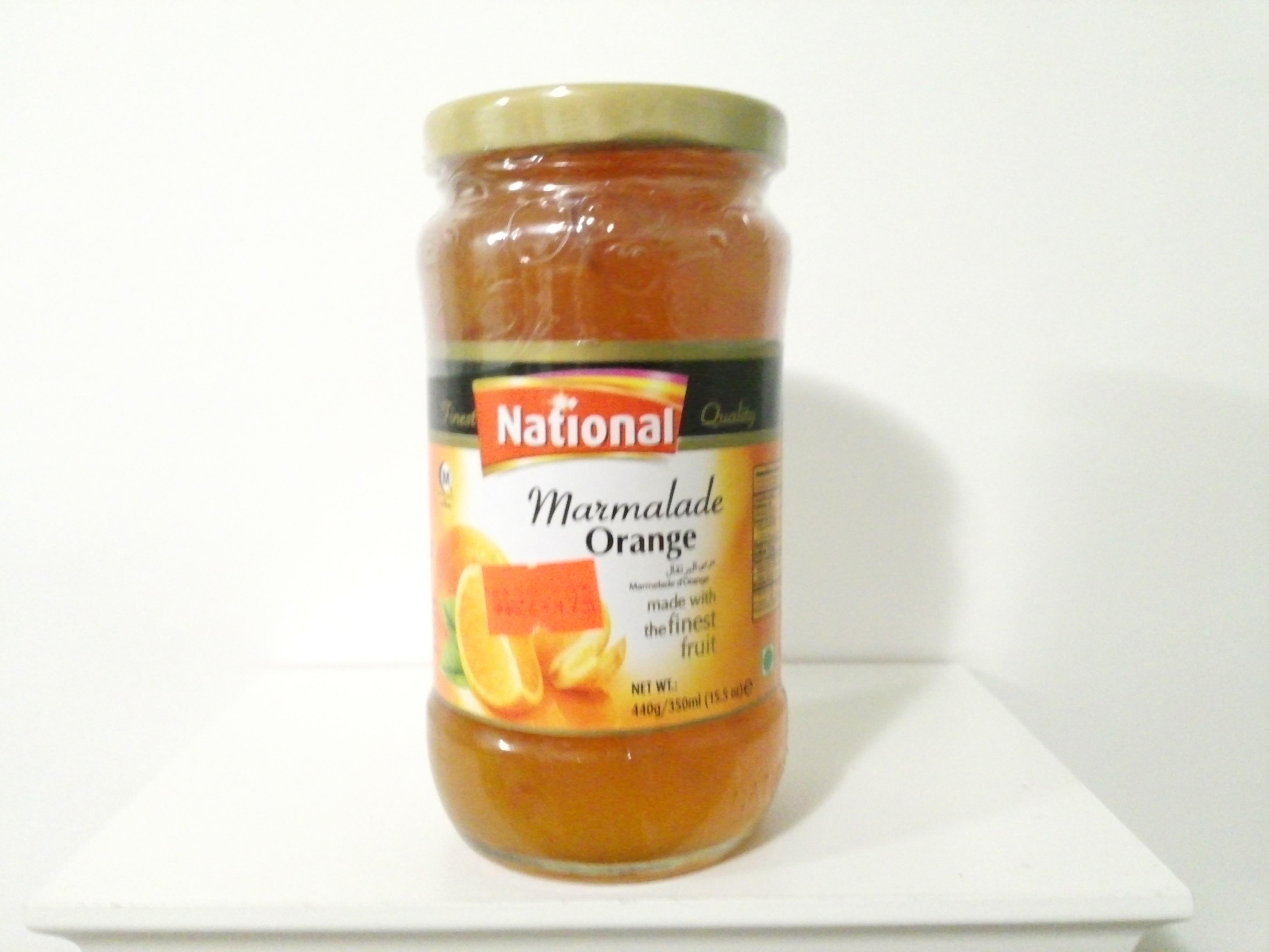 National Marmalade Orange Jam 440 grm