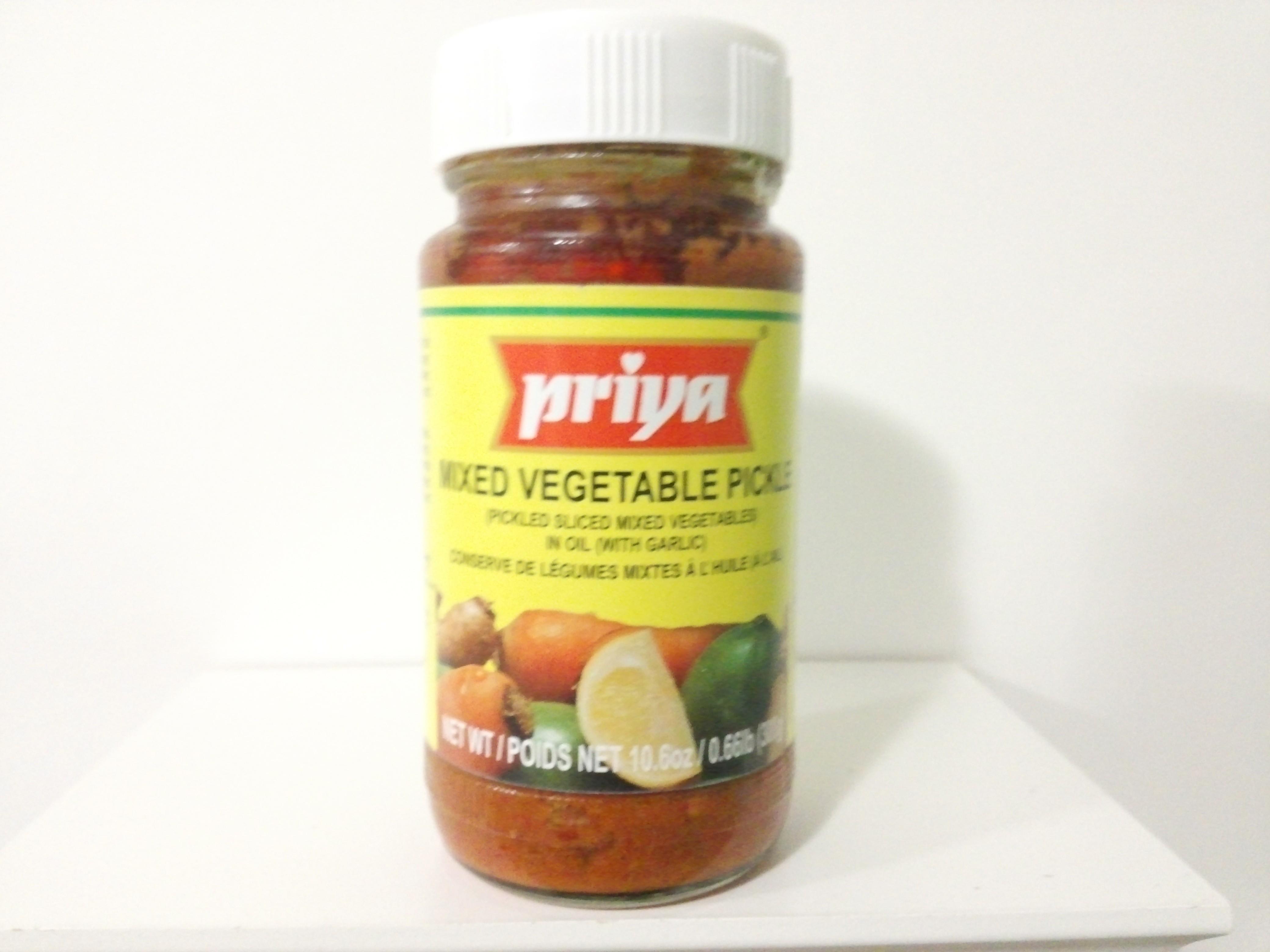 Priya Mixed Vegetable Pickle 300 grm