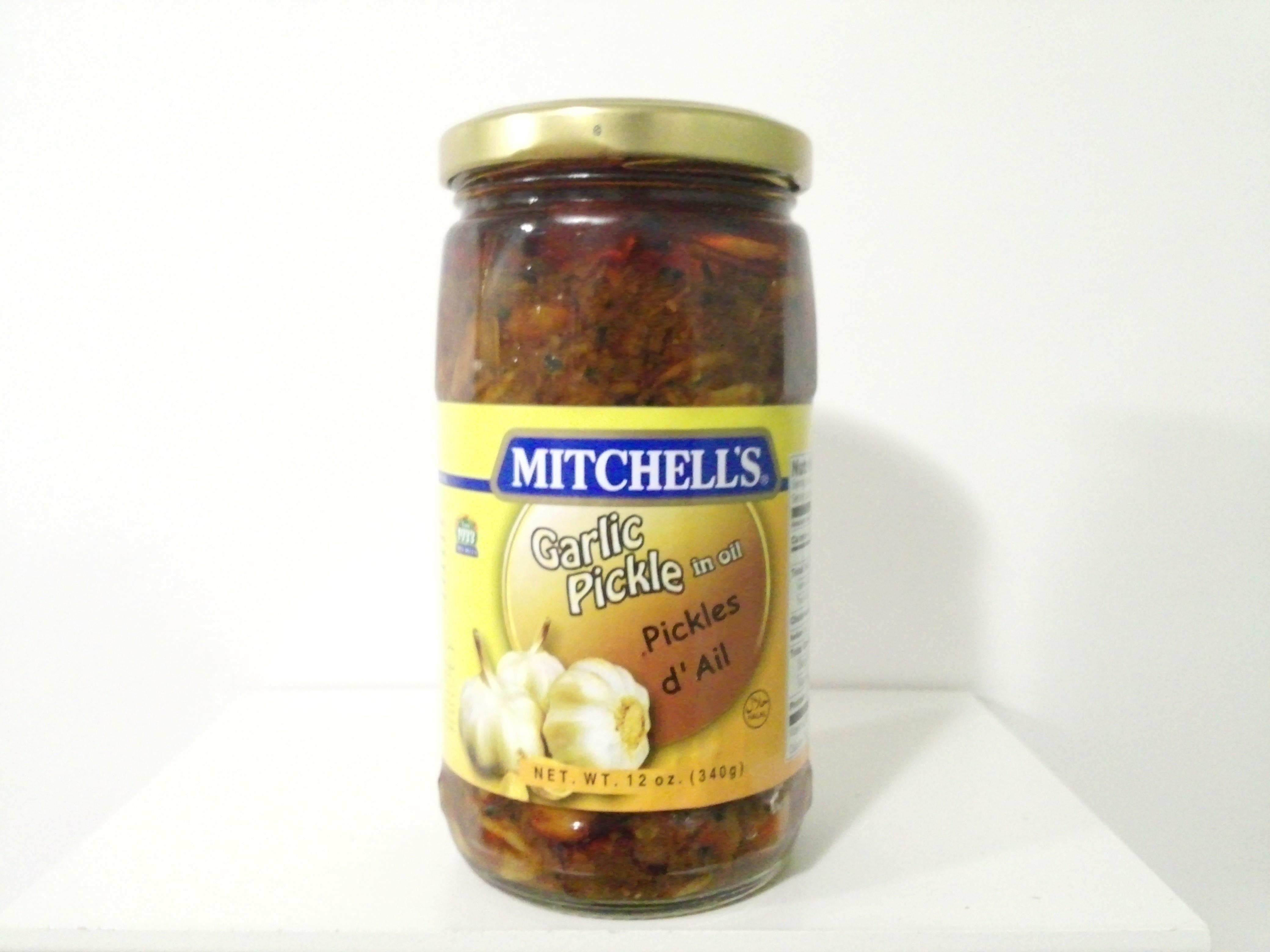 Mitchell's Garlic Pickle 340 grm