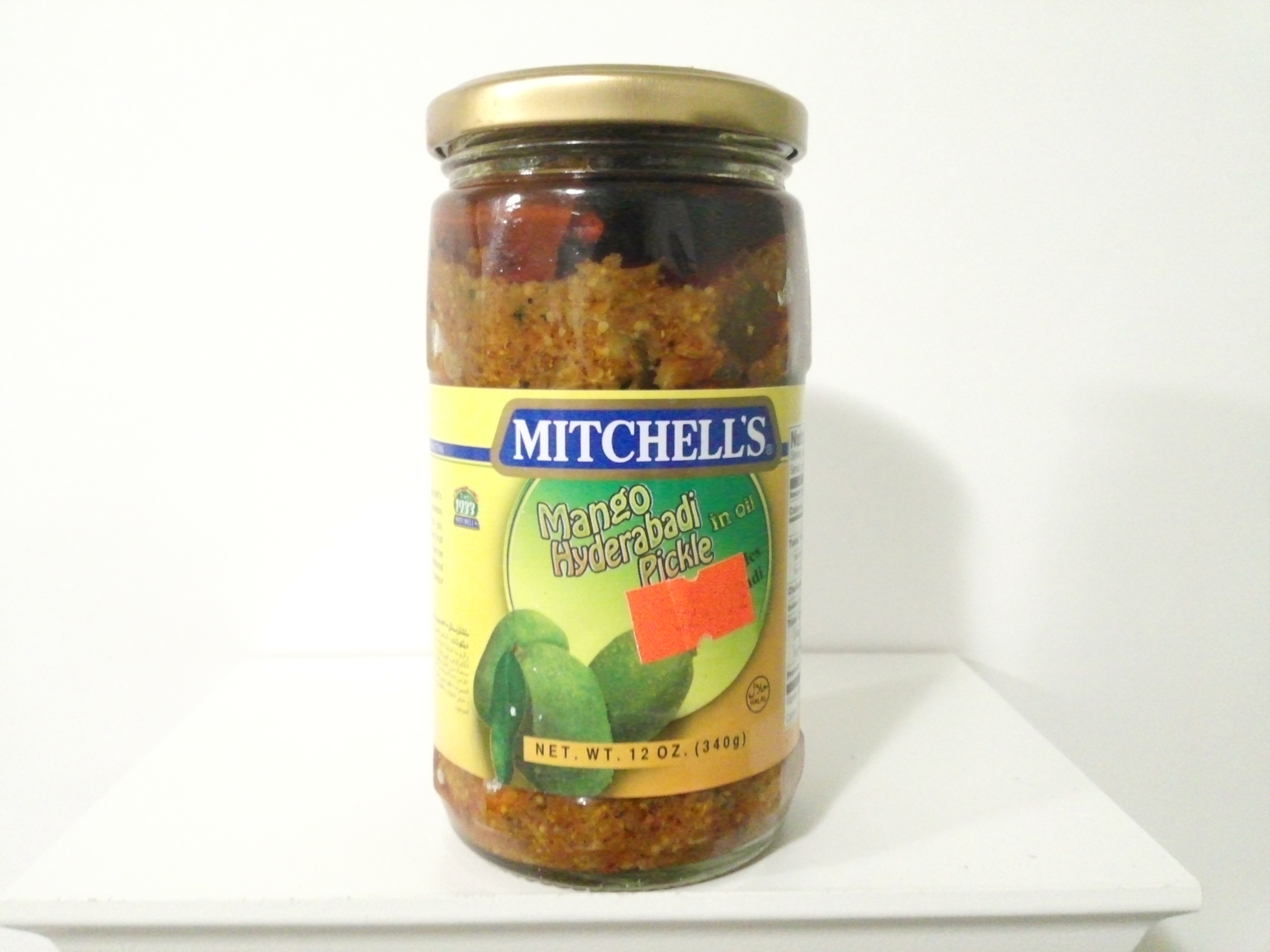 Mitchell's Mango Hyderabadi Pickle 340 grm