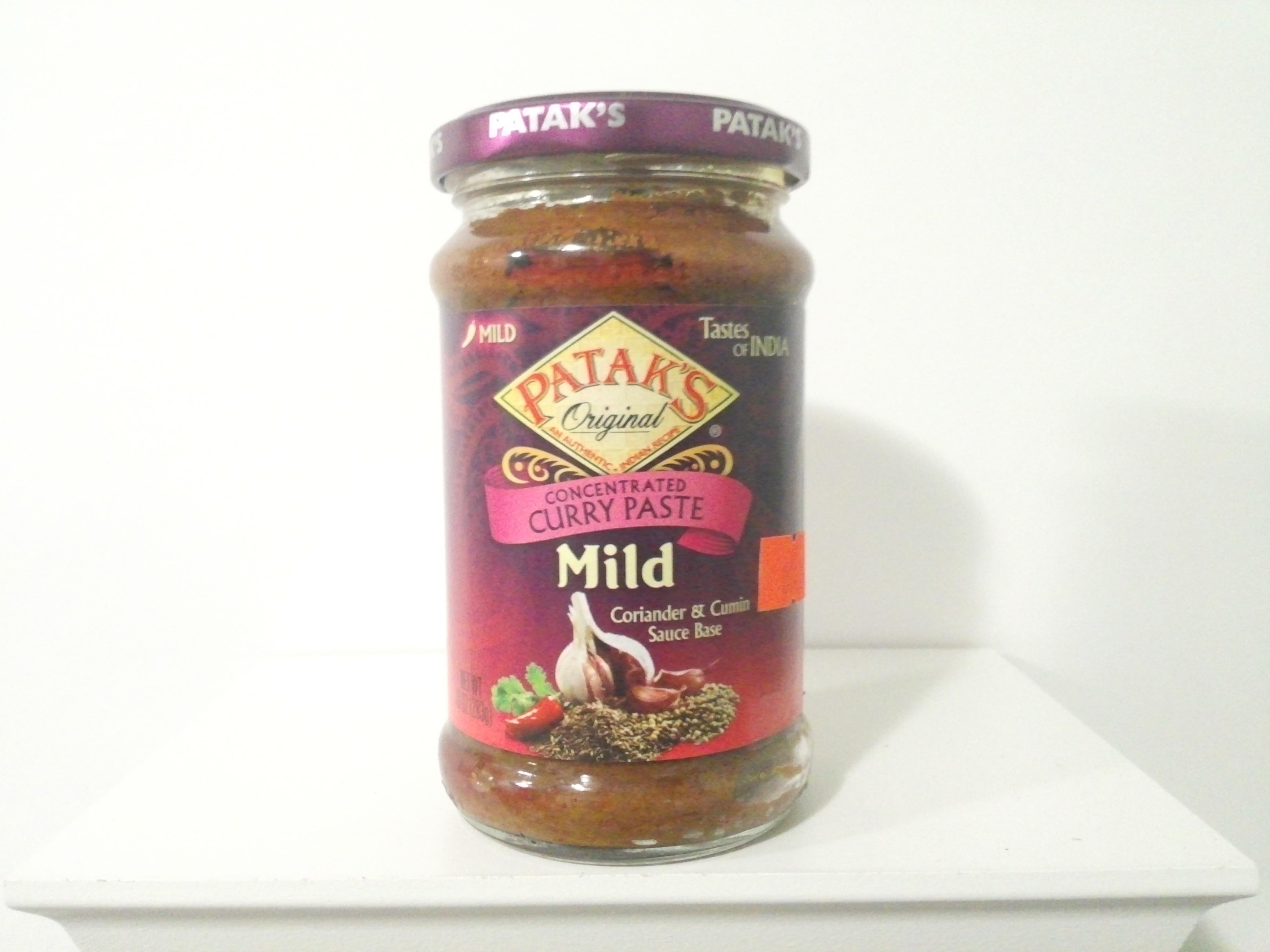 Patak's Mild Curry Paste 283 grm