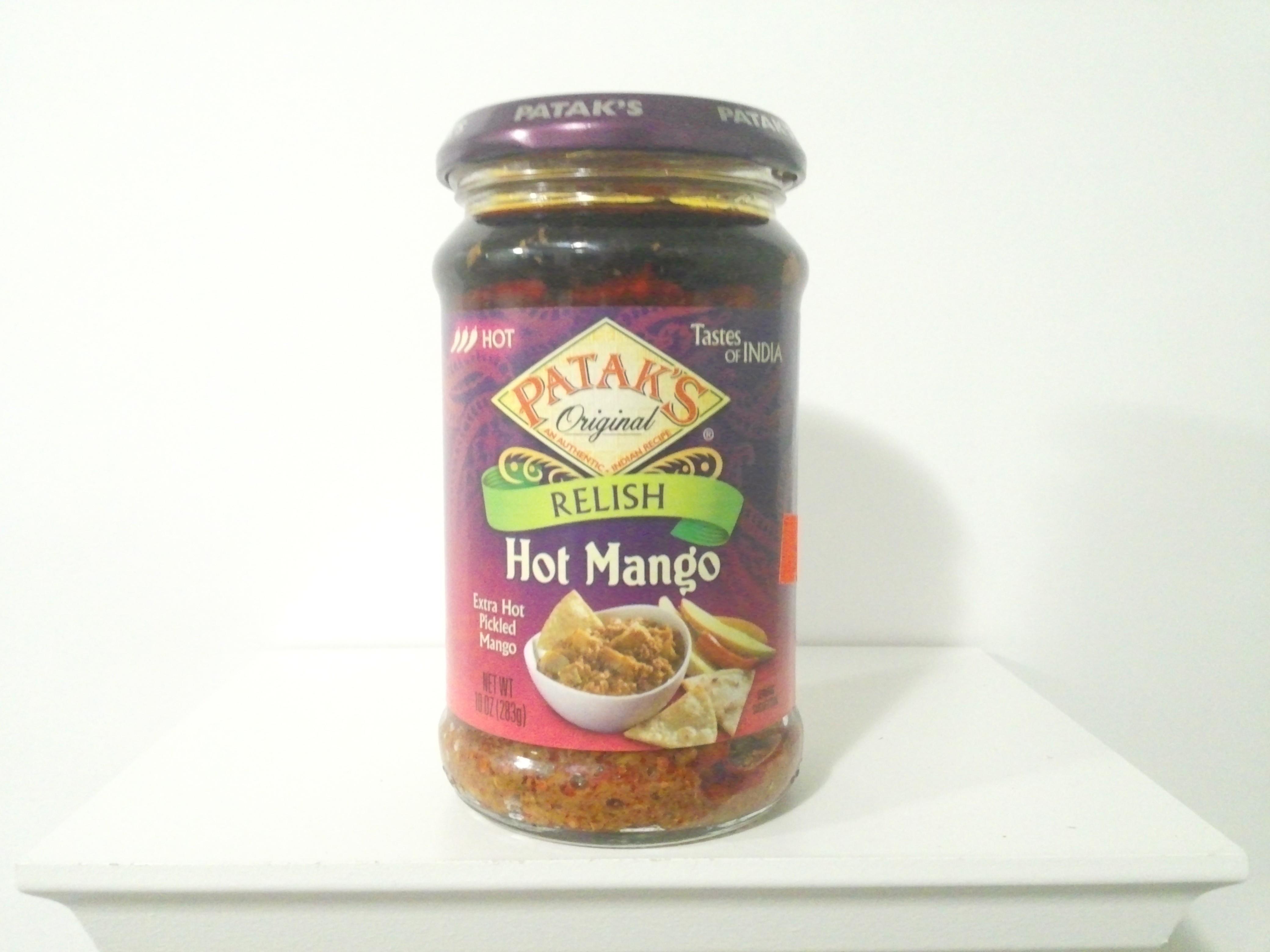 Patak's Hot Mango Relish (Pickle) 283 grm