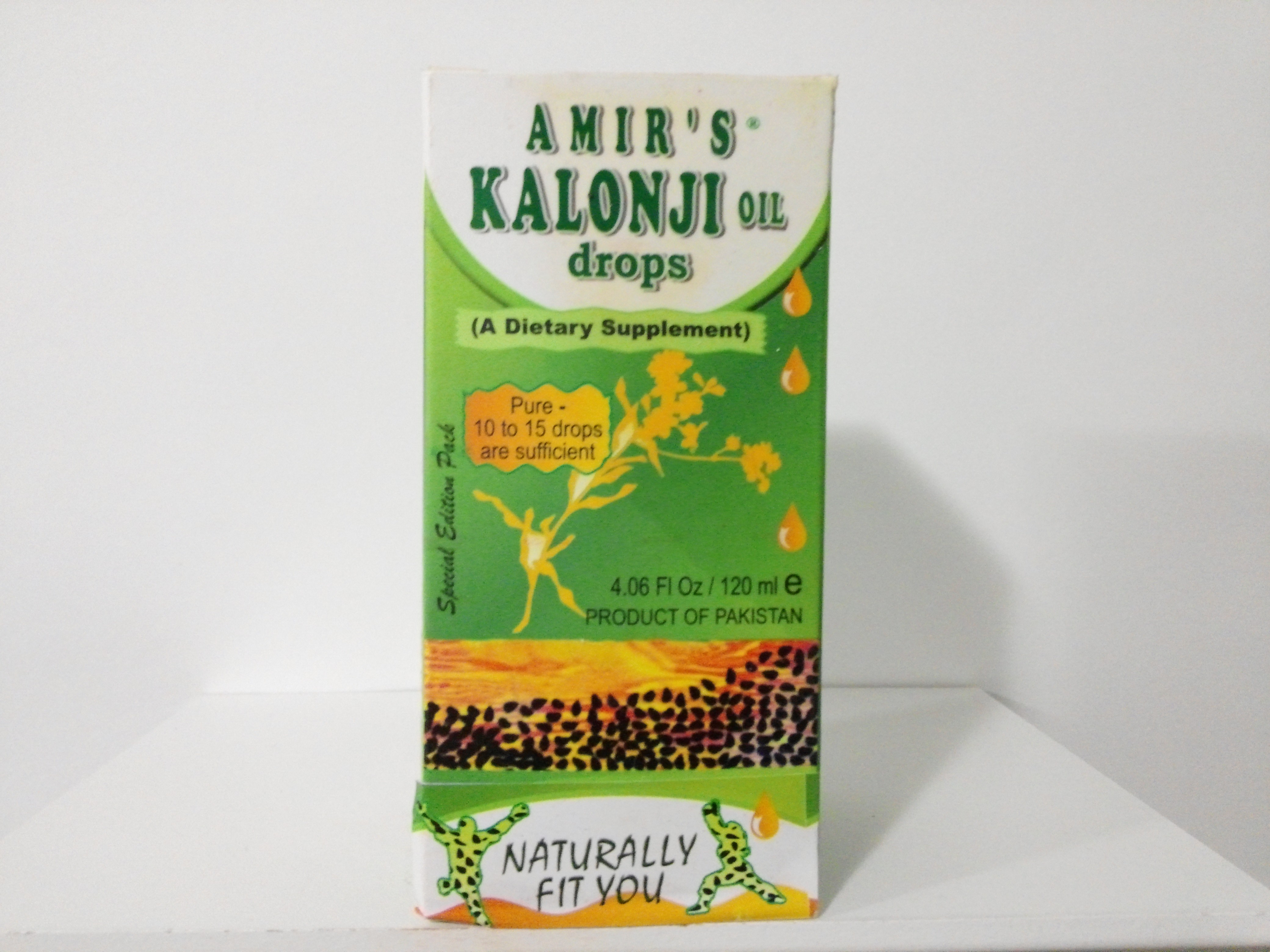 Amir's Kalonji Oil Drops 4.06 oz