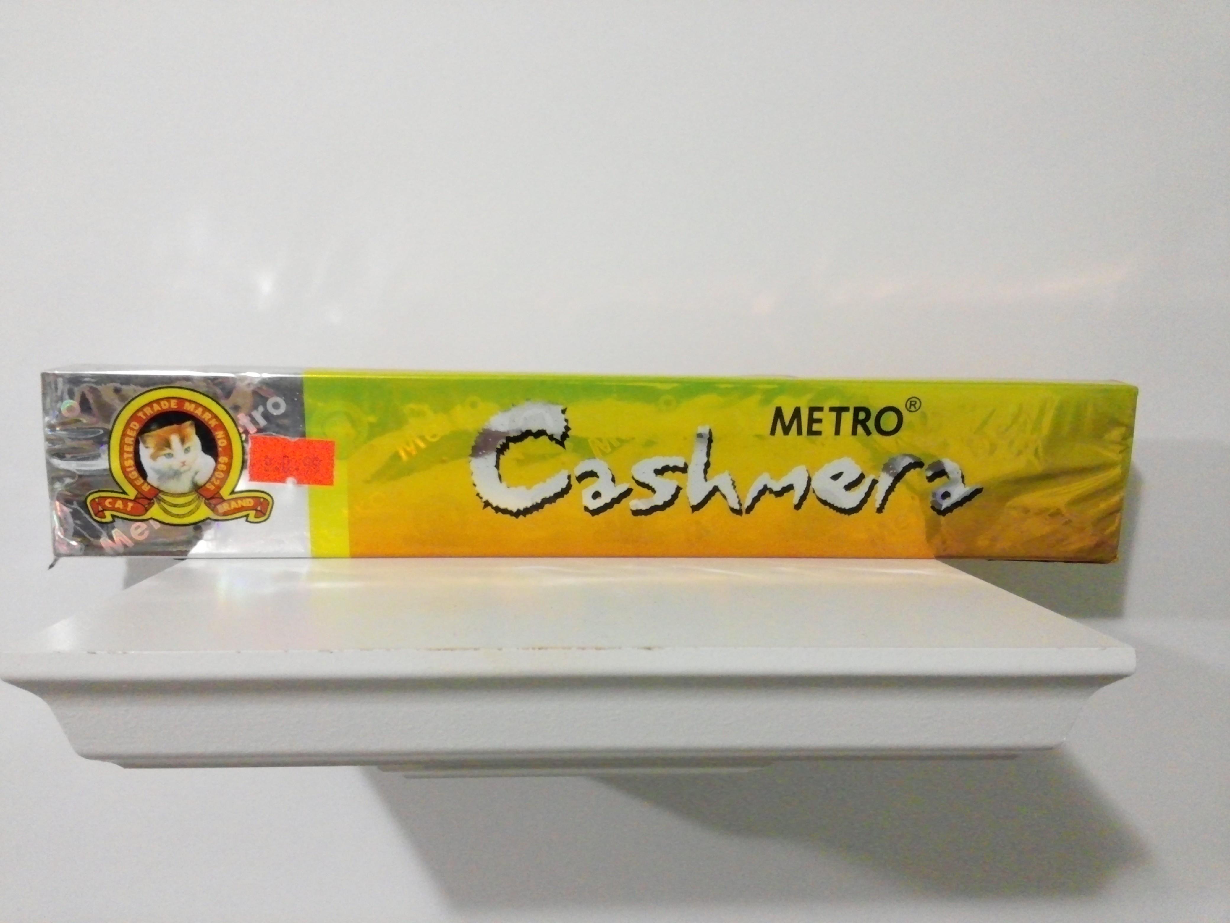Metro Cashmera Agarbatti 1 Pack