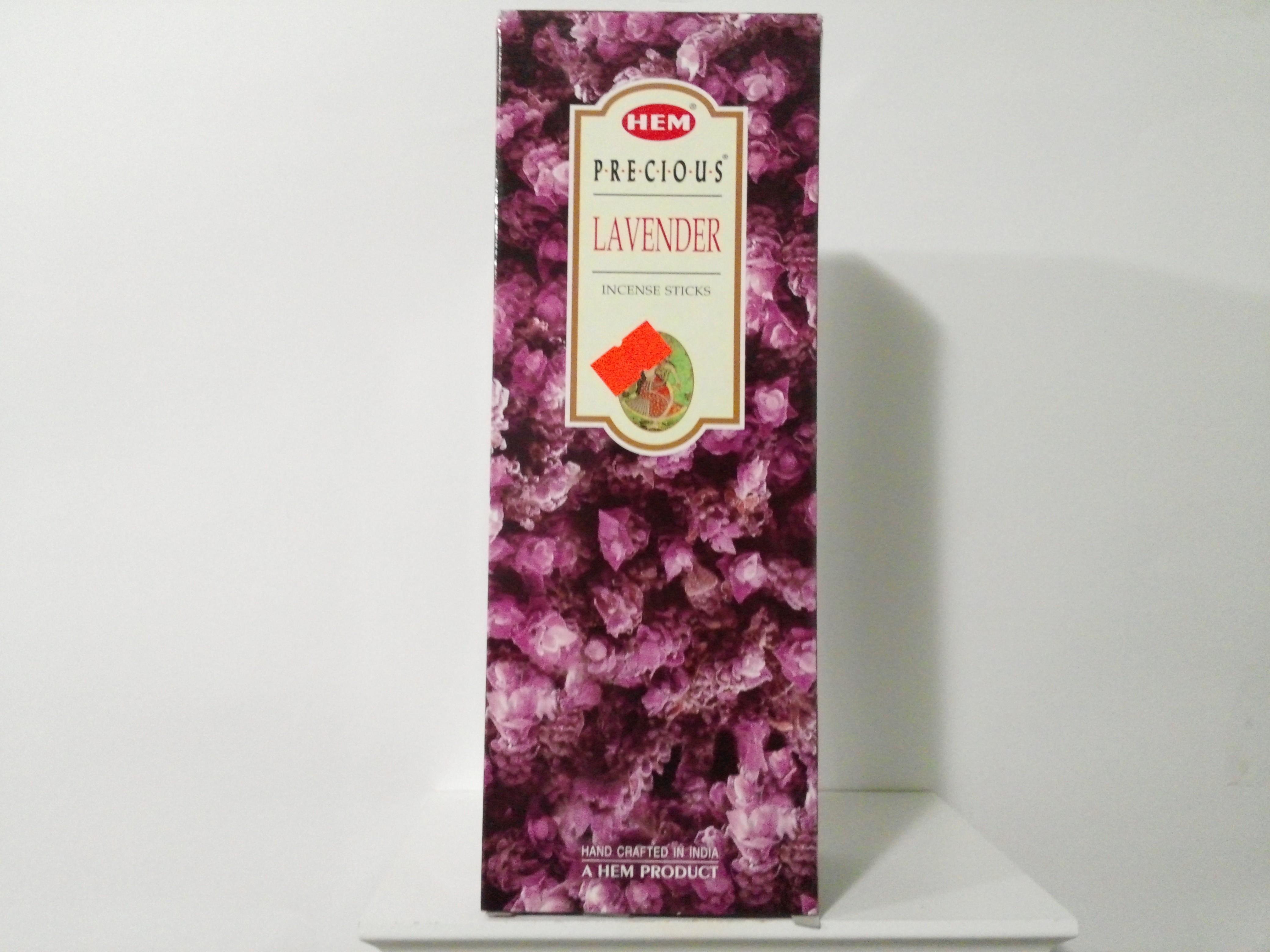 HEM Lavender Incense Sticks(Agarbatti) 6 Packs