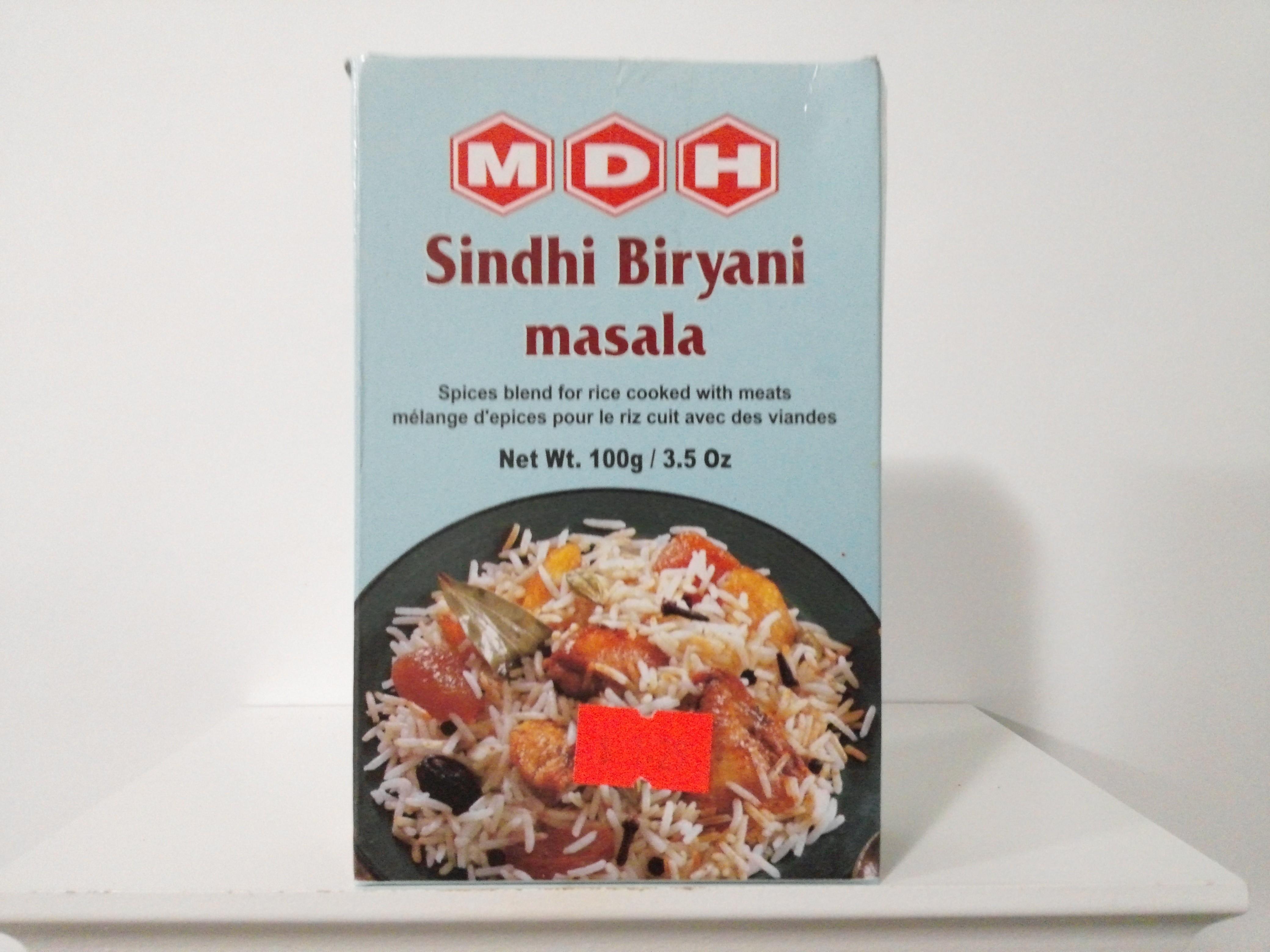 MDH Sindhi Biryani Spice Mix 100 grm