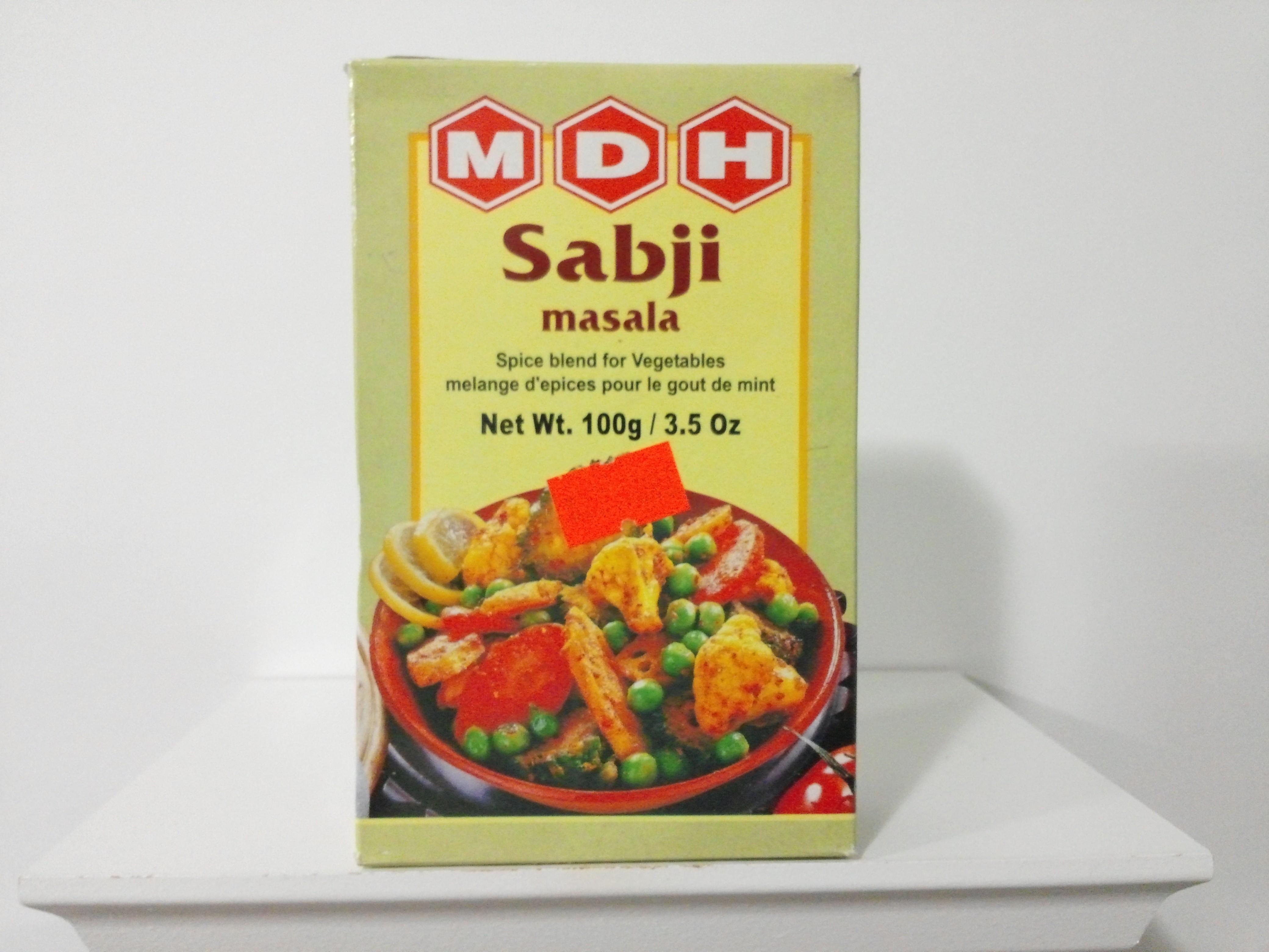 MDH Sabji Masala Spice Mix 100 grm