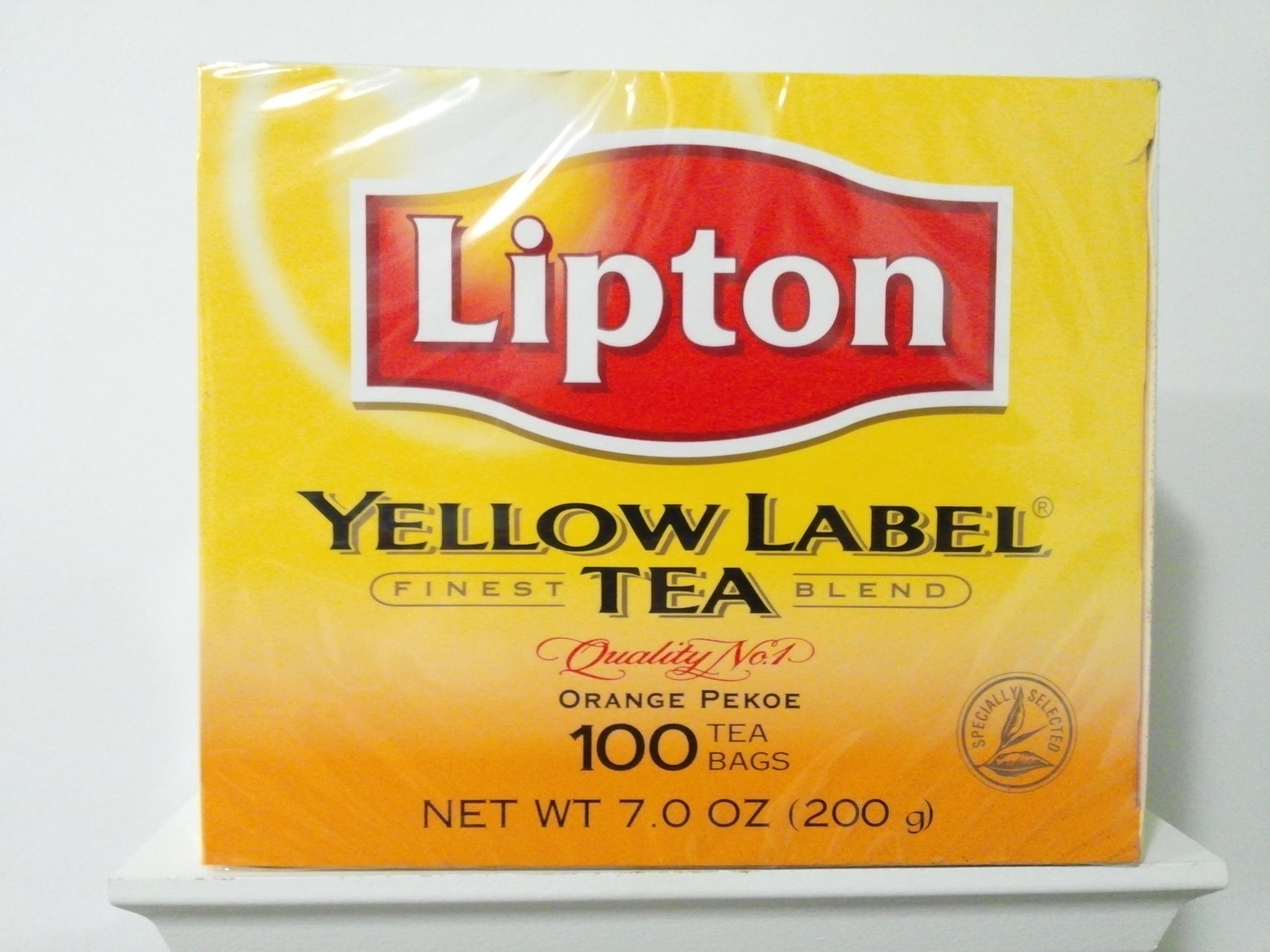 Lipton Yellow Label Tea 100 Bags