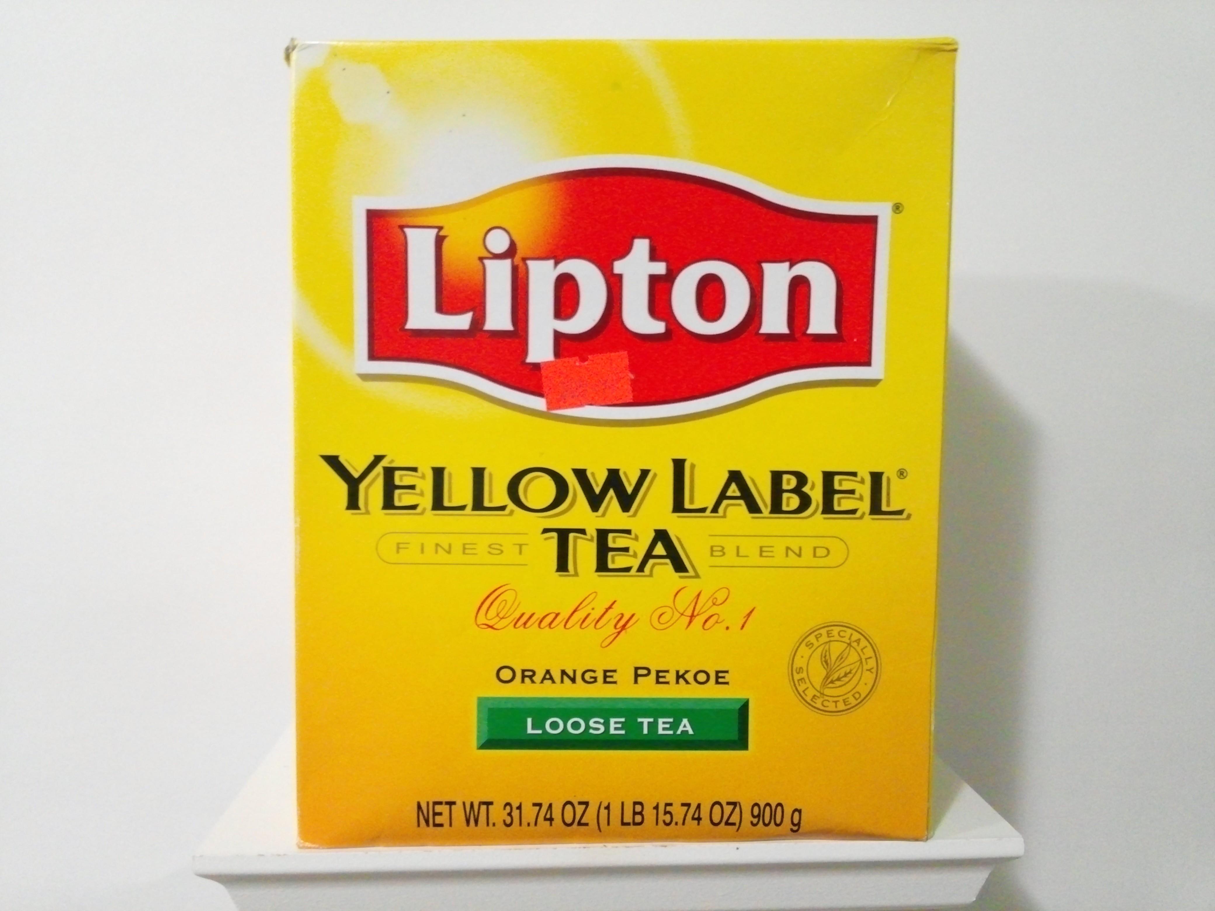 Lipton Yellow Label Tea 900 grm