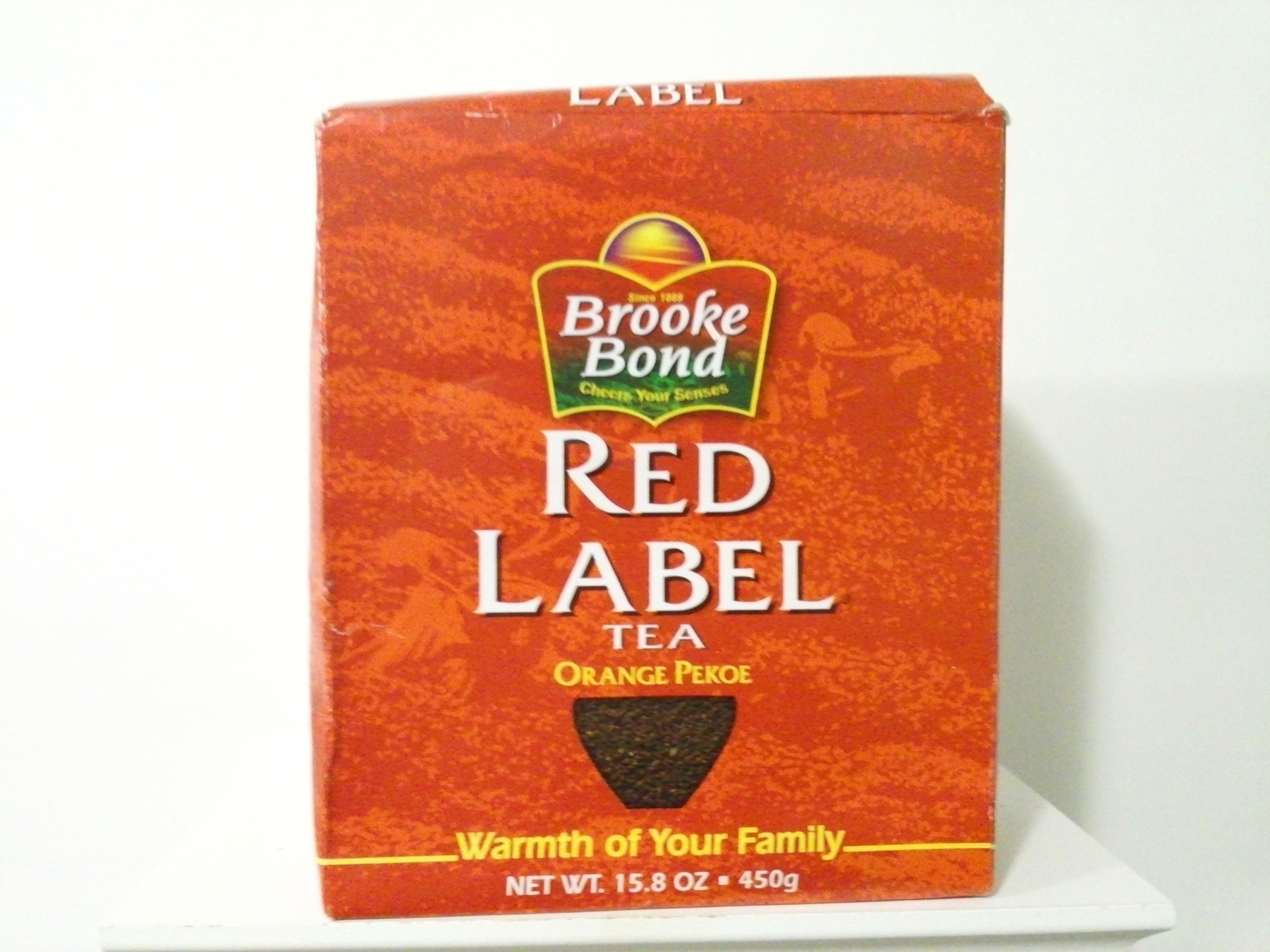 Brooke Bond Red Label Tea 450 grm