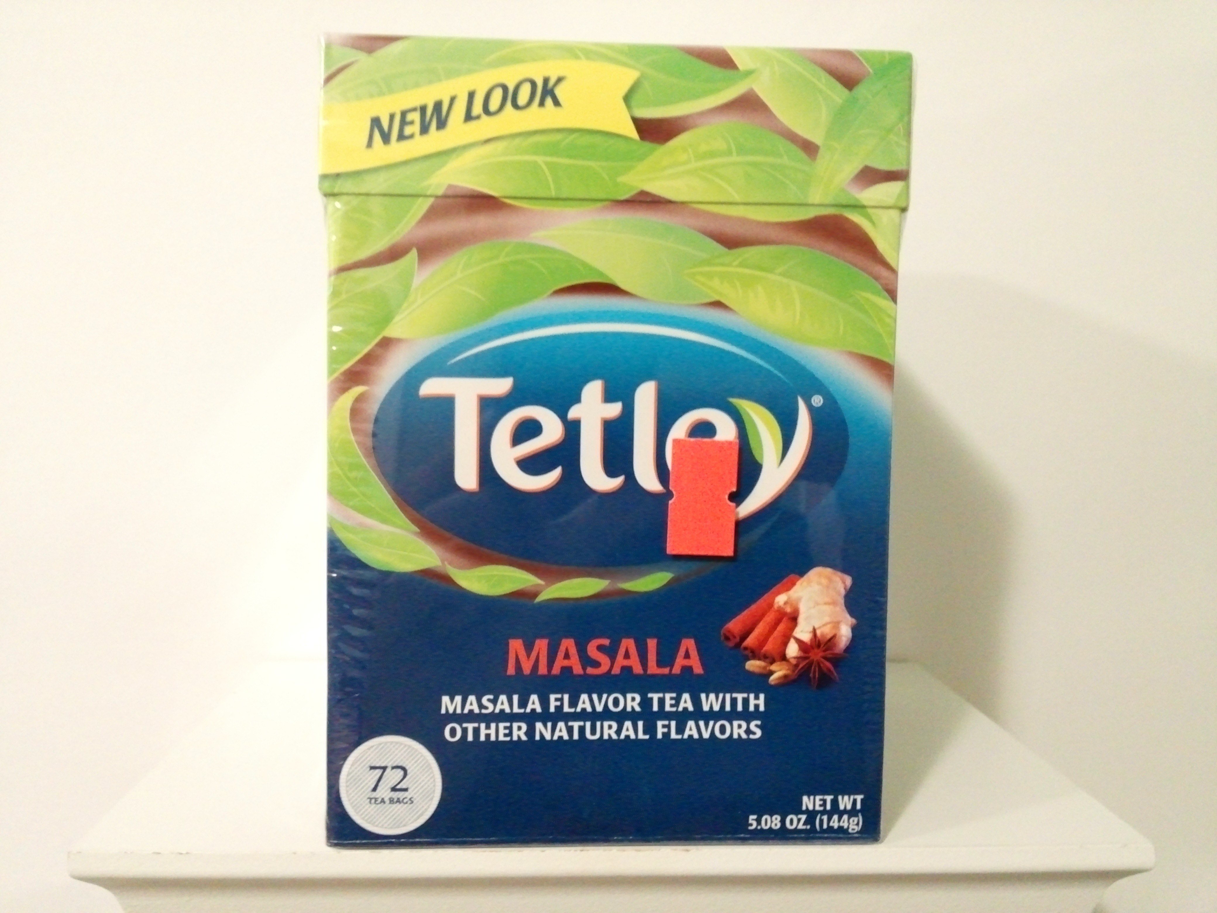 Tetley Masala Flavour Tea 72 Bags