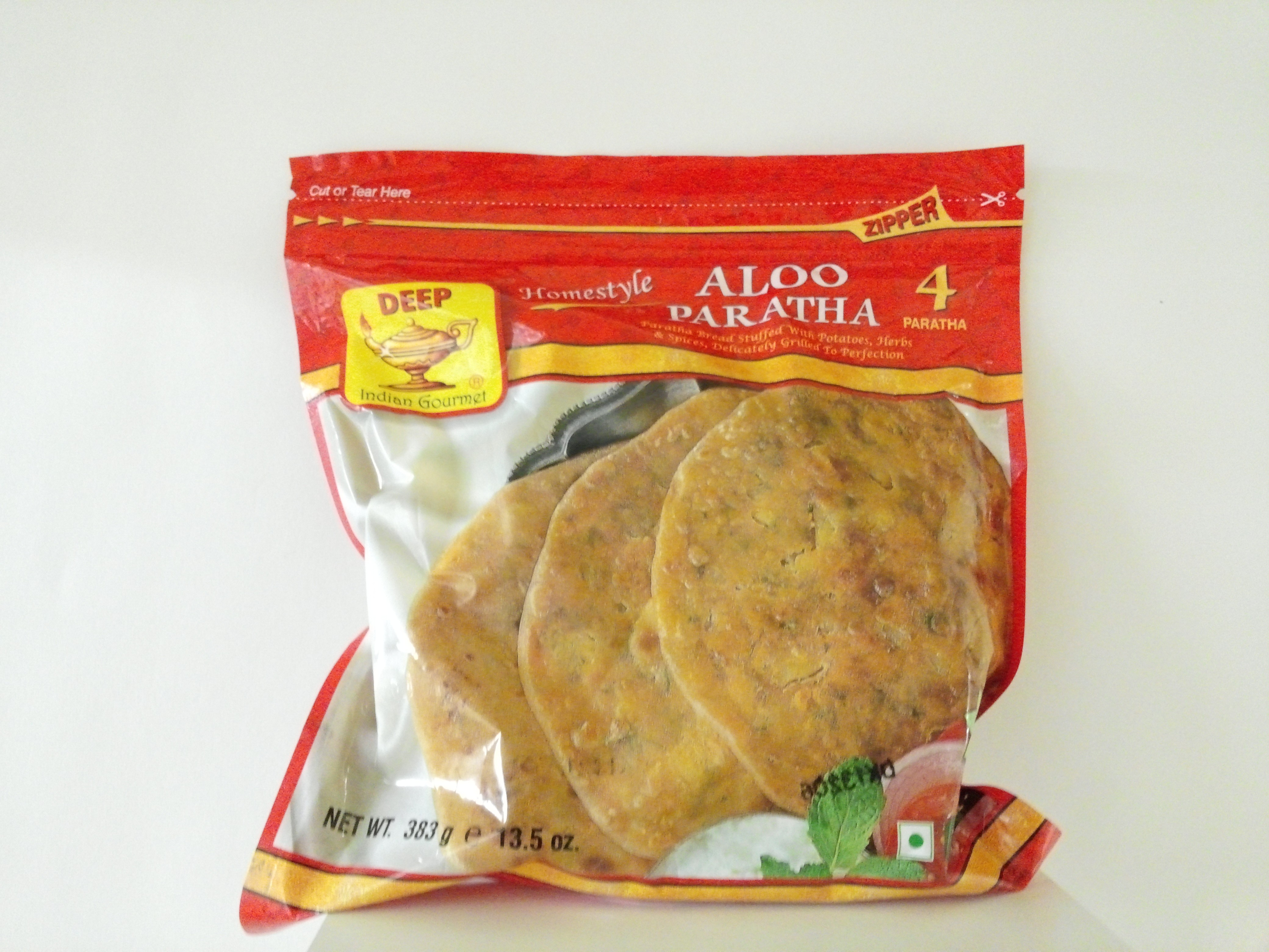 Deep Homestyle Aloo Paratha  4 pcs 13.5 oz