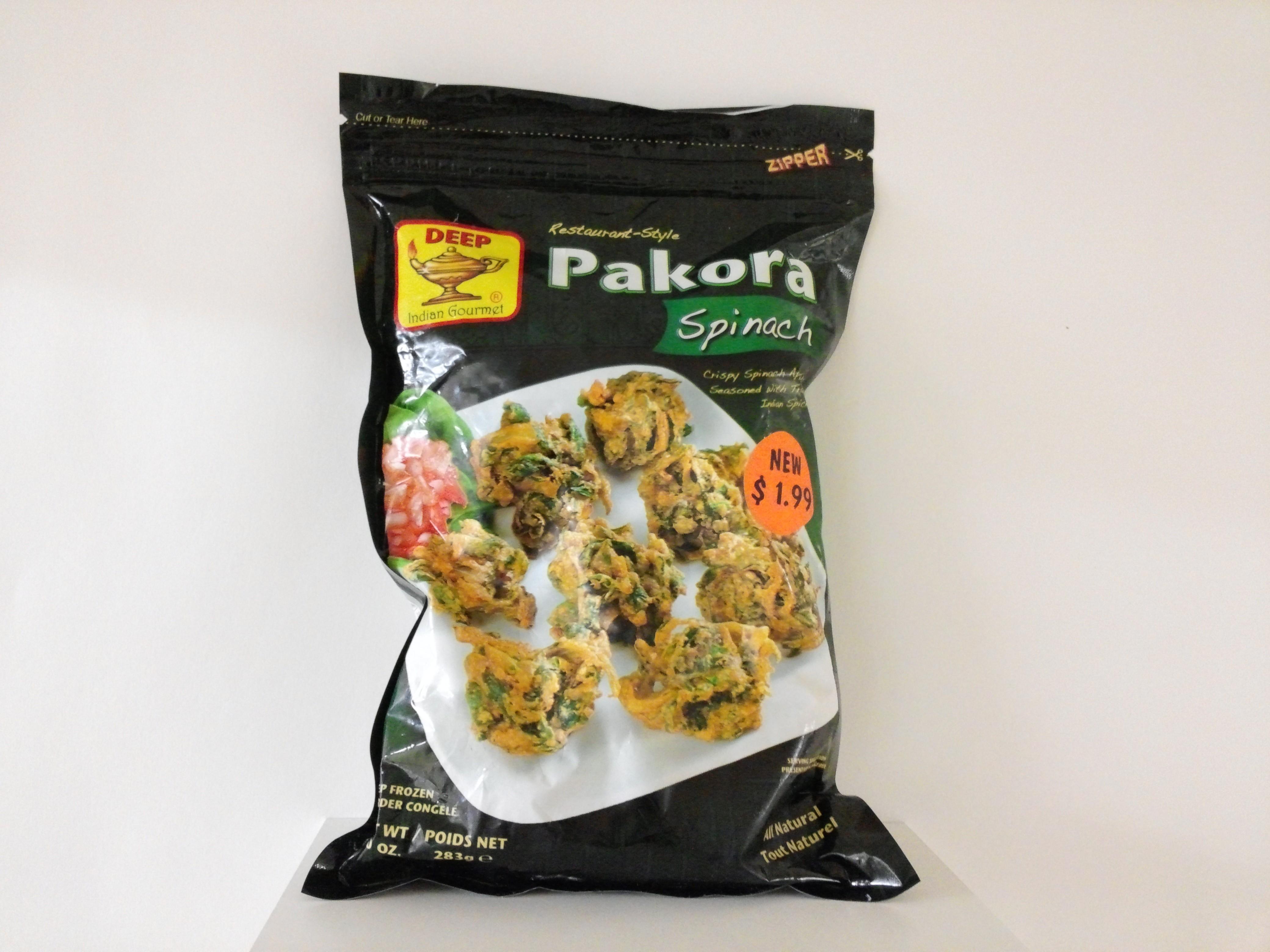 Deep Pakora Spinach 10 oz