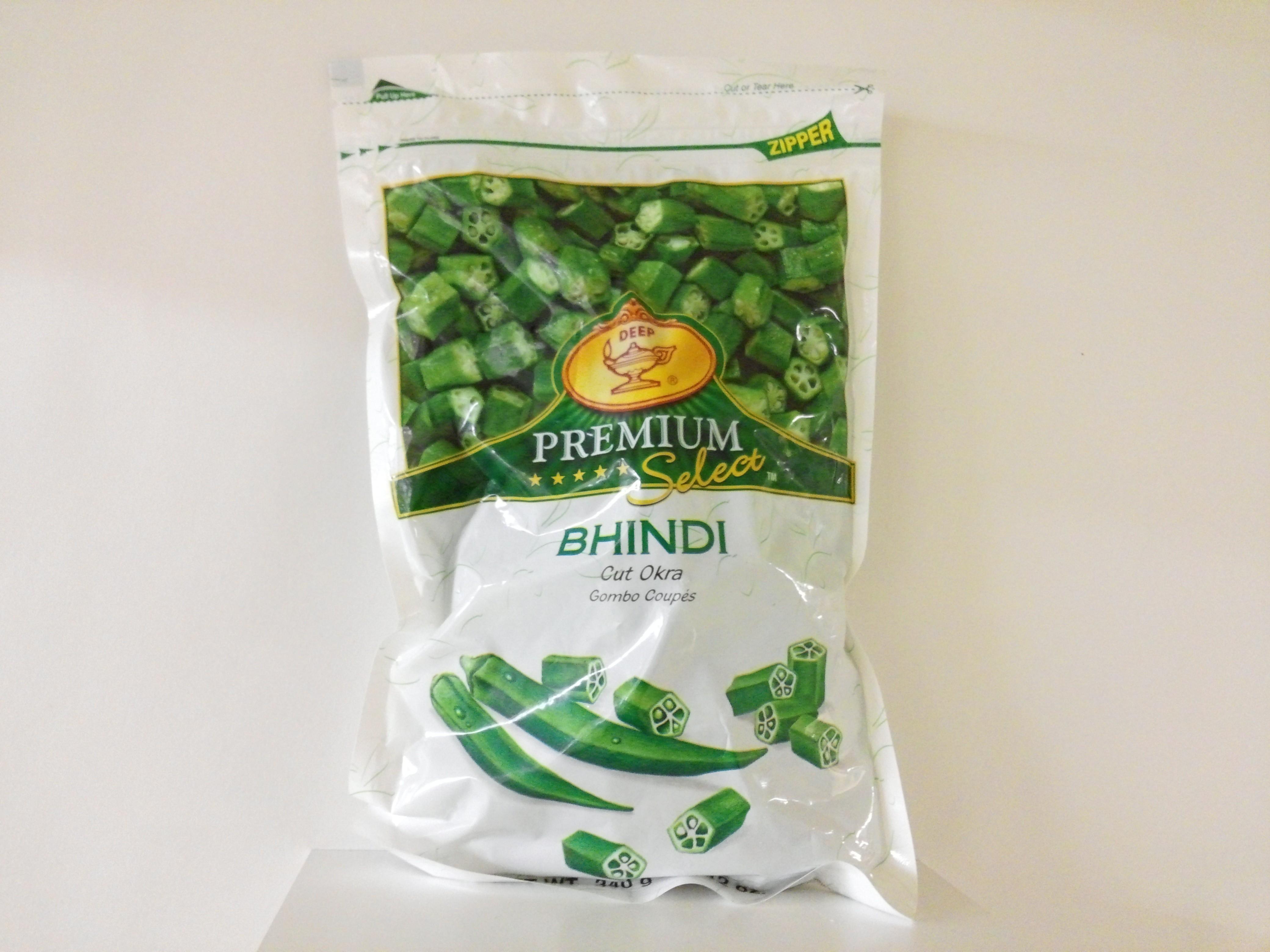 Deep Premium  Cut Okra ( Bhindi ) 12 oz