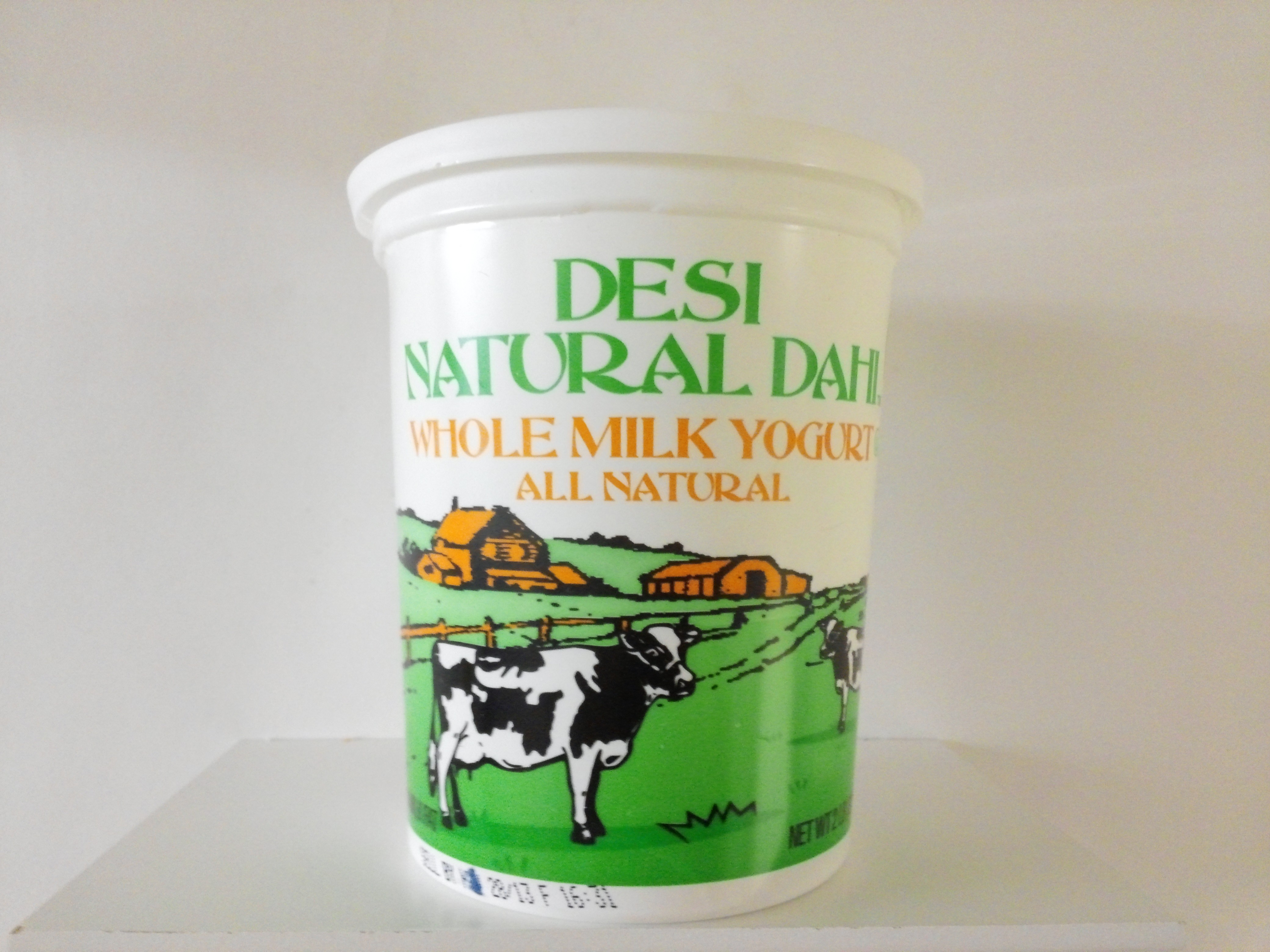 Desi Whole Milk Yogurt 2 lbs