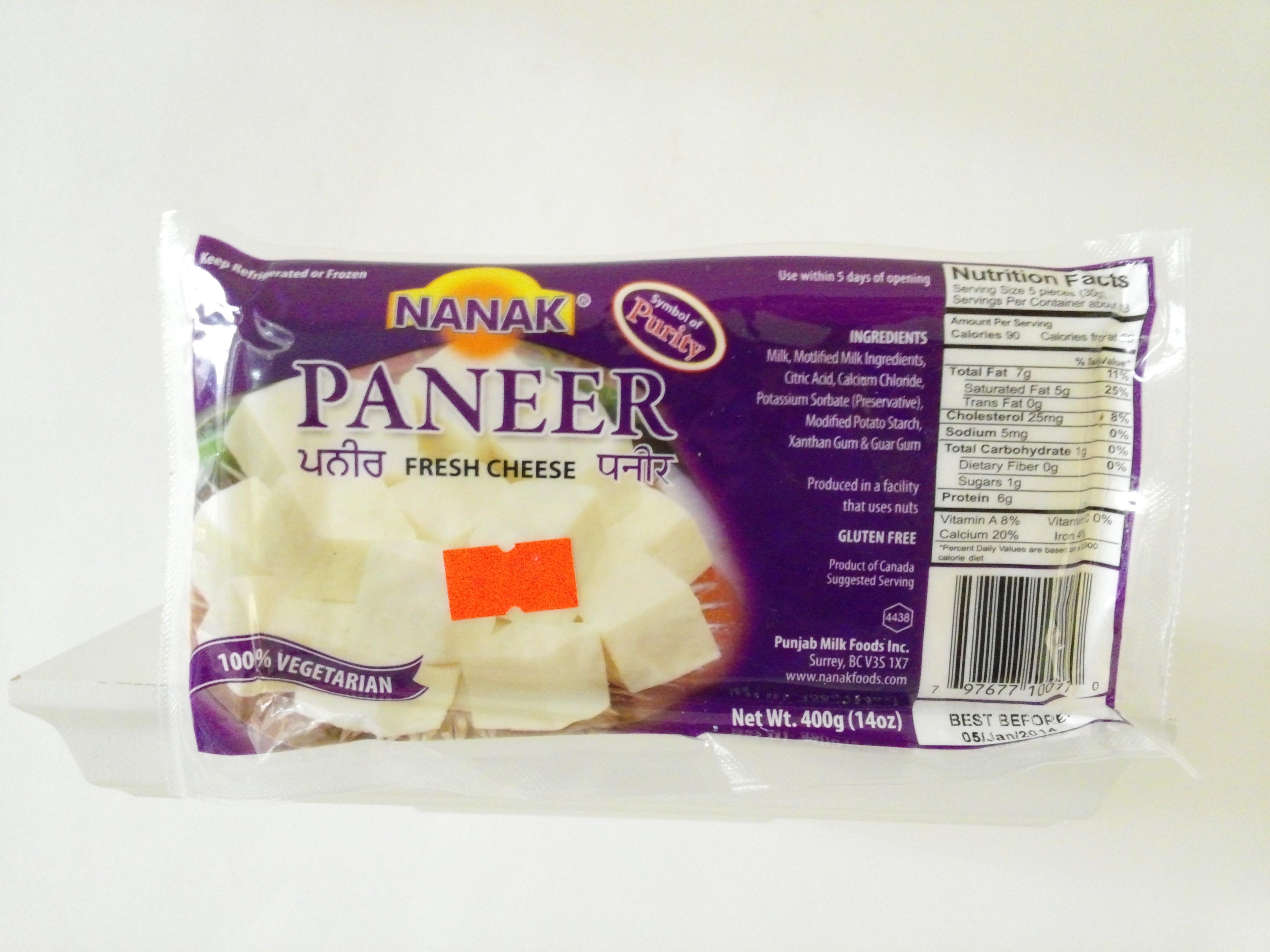 Nanak Paneer 14 oz